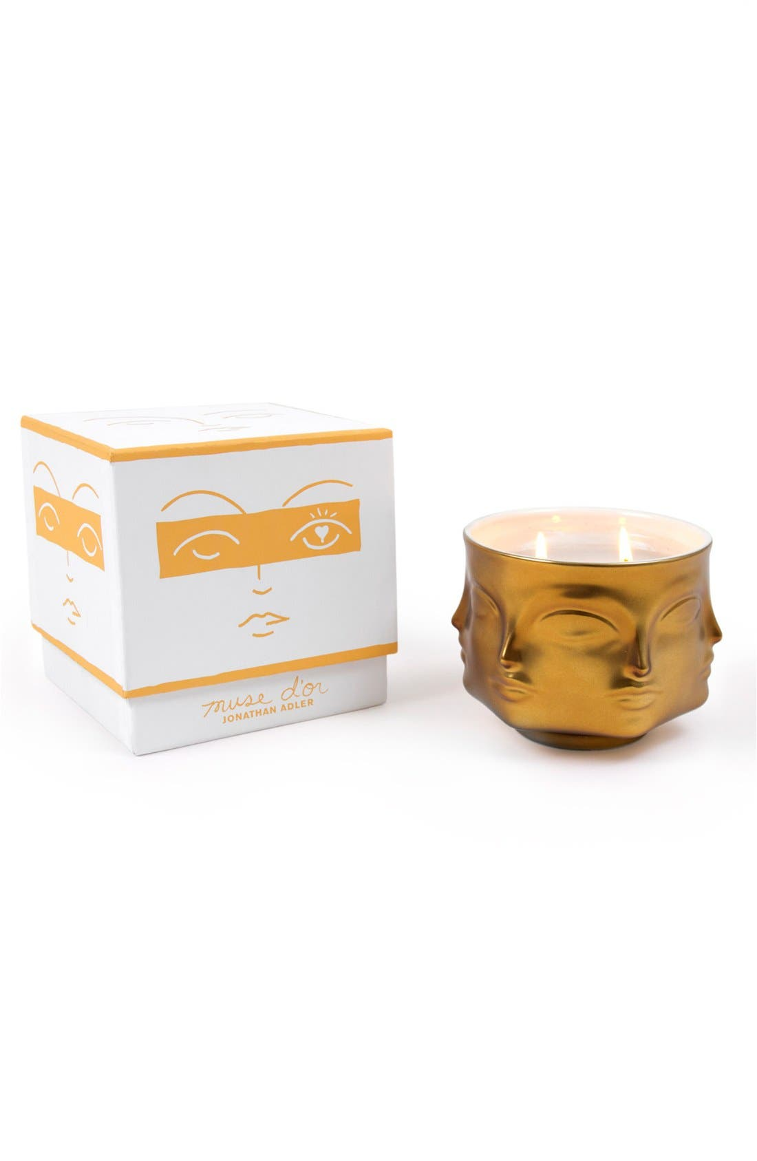 Alternate Image 2  - Jonathan Adler 'Muse D'Or' Candle