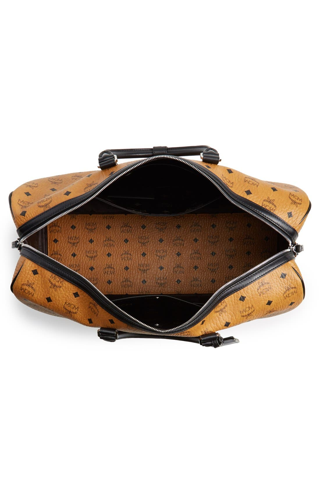 Alternate Image 4  - MCM 'Color Visetos - Large' Weekend Duffel Bag