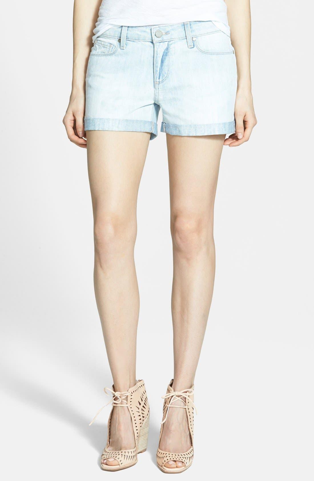 Alternate Image 1 Selected - Paige Denim 'Jimmy Jimmy' Denim Shorts