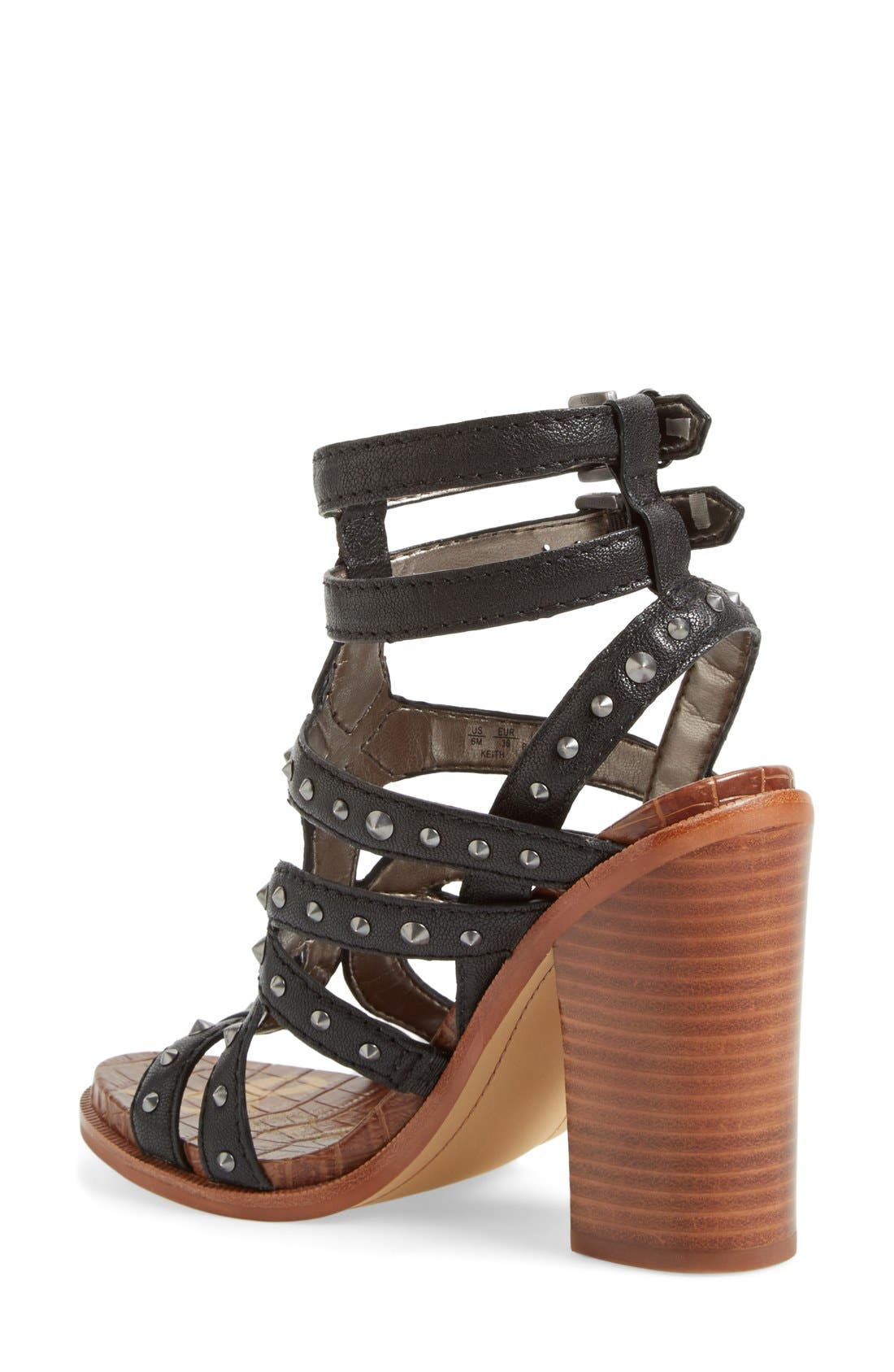 Alternate Image 2  - Sam Edelman 'Keith' Studded Sandal (Women)