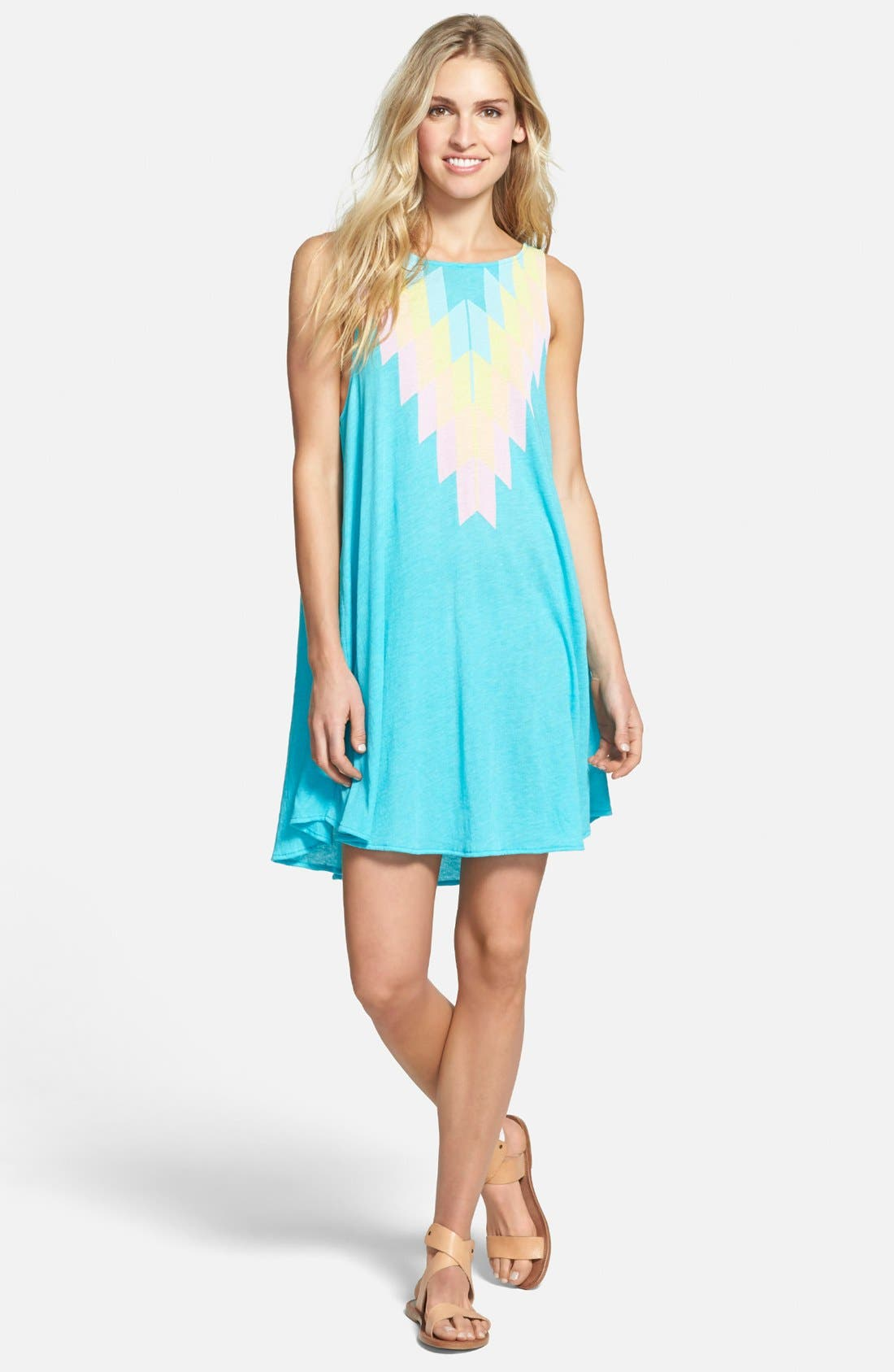 Wildfox 'Cassidy Sea' Sleeveless Tunic Dress