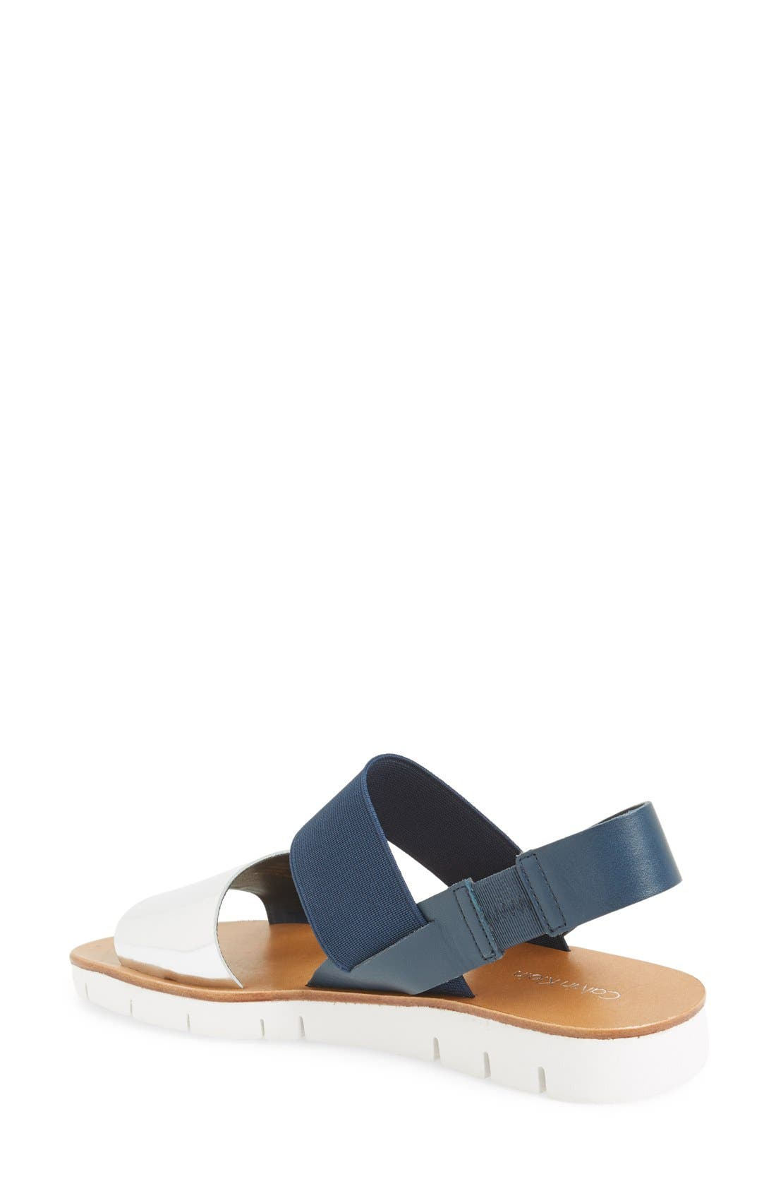 Alternate Image 2  - Calvin Klein 'Prisma' Double Band Sport Sandal (Women)