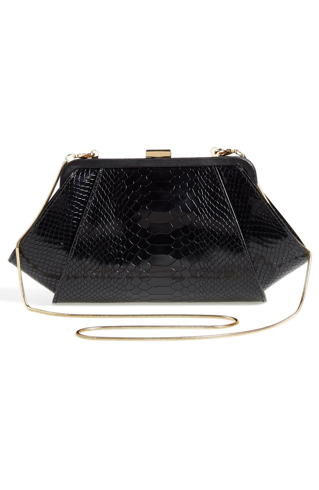Alternate Image 3  - ZAC Zac Posen 'Posen' Snake Embossed Leather Clutch