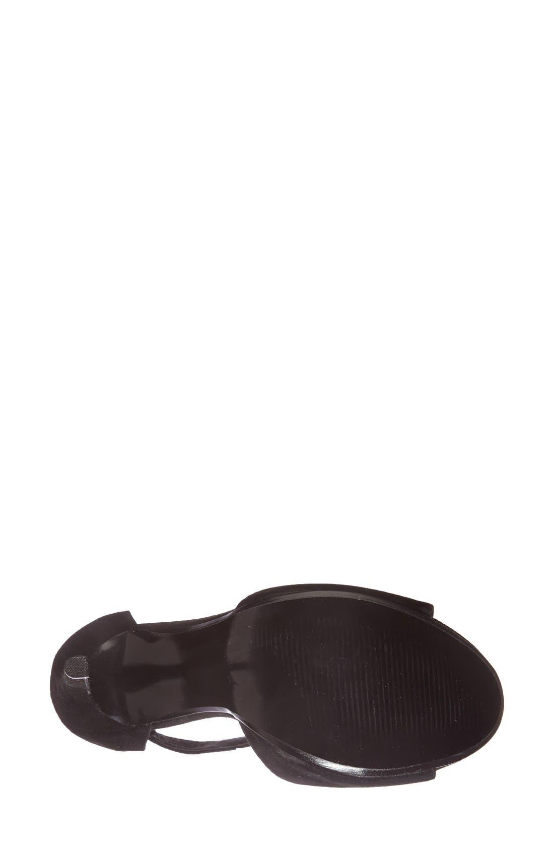 Alternate Image 4  - Steve Madden 'Mogull' Ankle Strap Sandal (Women)