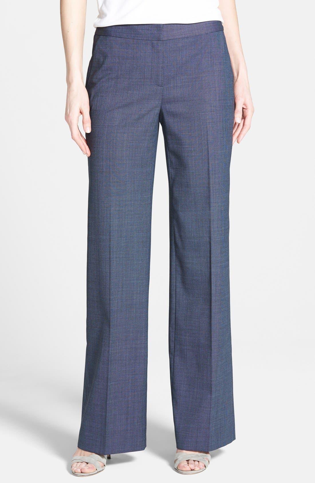 Alternate Image 1 Selected - Classiques Entier® Suiting Trousers (Regular & Petite)