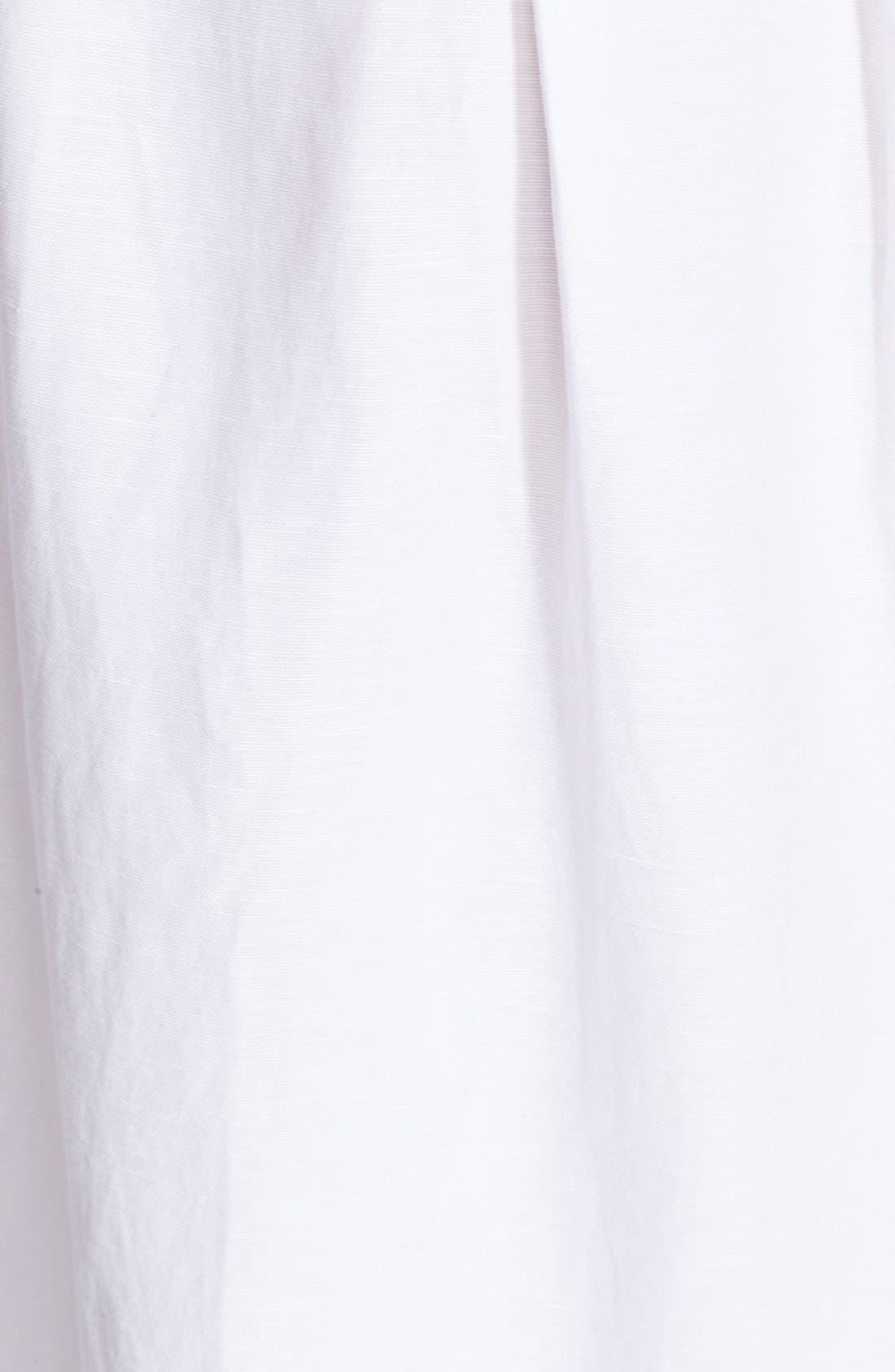 Alternate Image 3  - Milly Button Front Linen Midi Skirt