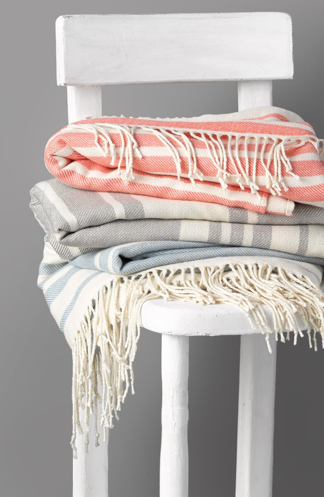 Alternate Image 3  - Nordstrom at Home Beach Stripe Throw