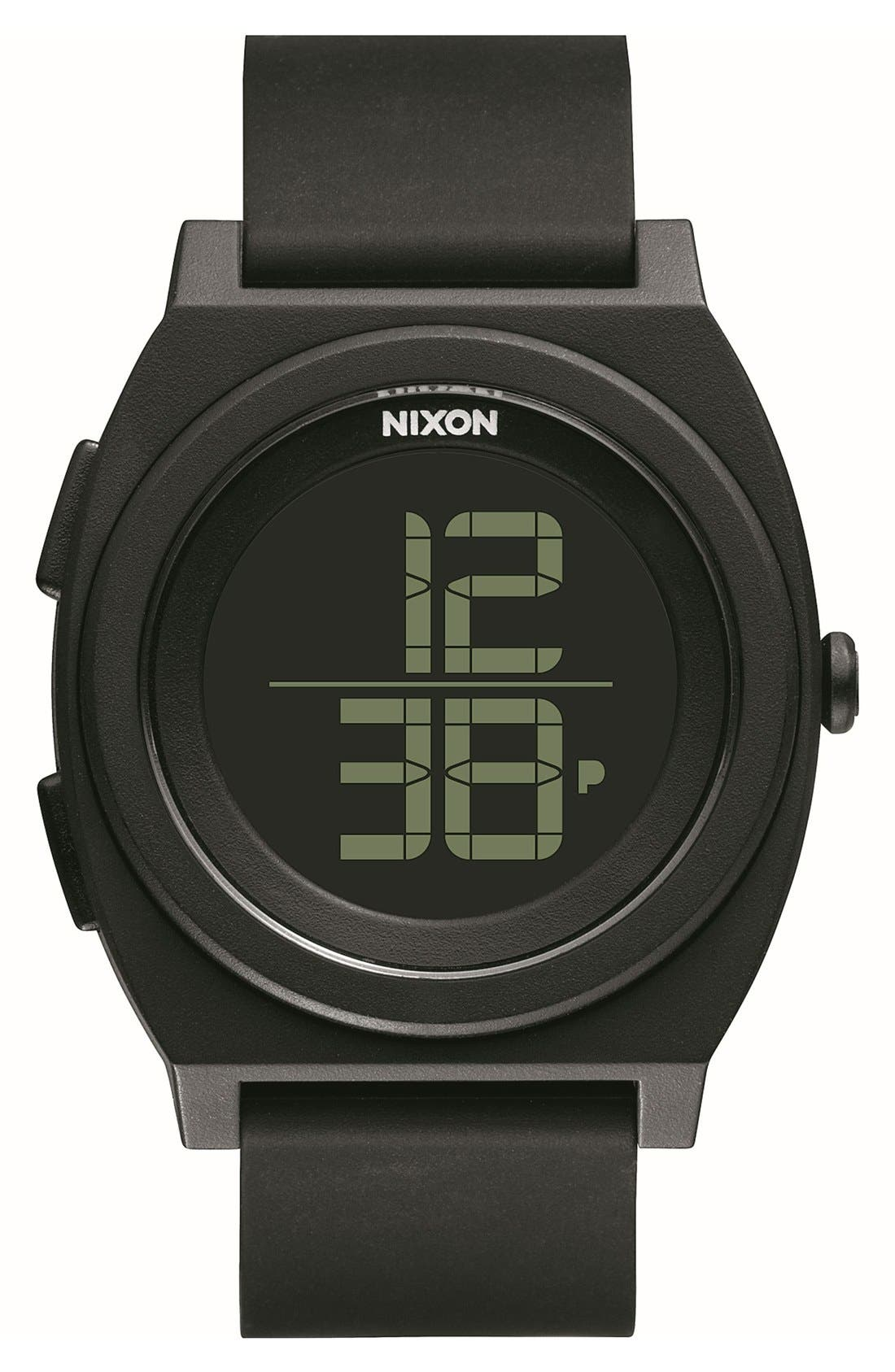 Main Image - Nixon 'Time Teller' Digital Watch, 40mm