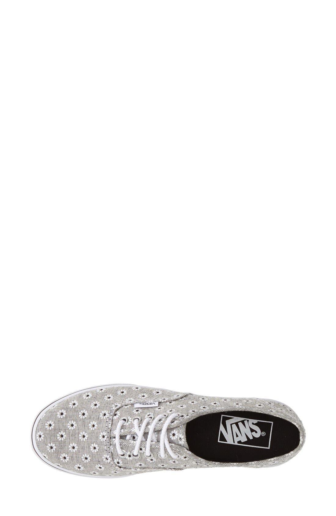 Alternate Image 3  - Vans 'Authentic - Chambray' Sneaker (Women)