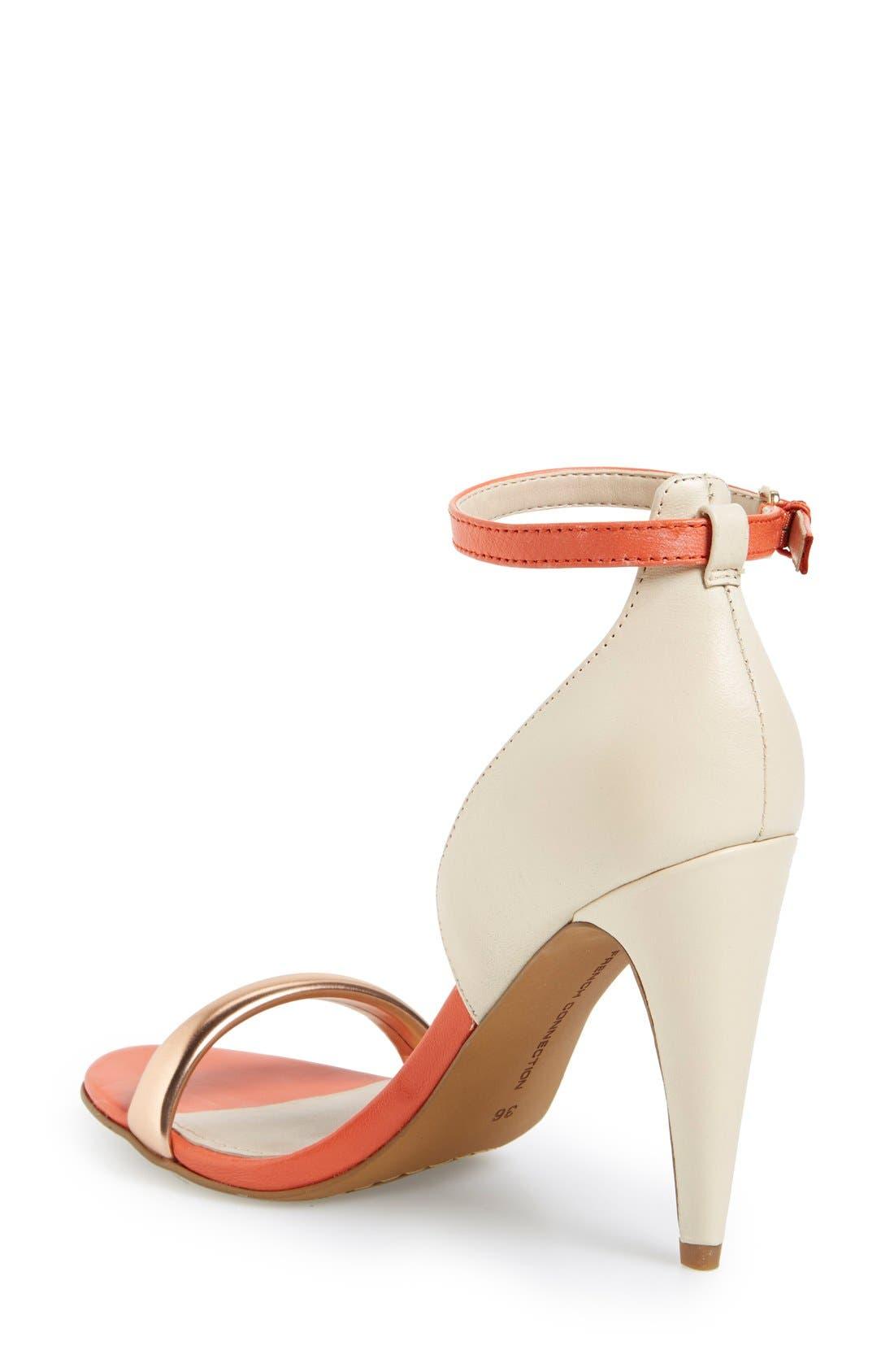Alternate Image 2  - French Connection 'Nanette' Ankle Strap Sandal (Women)