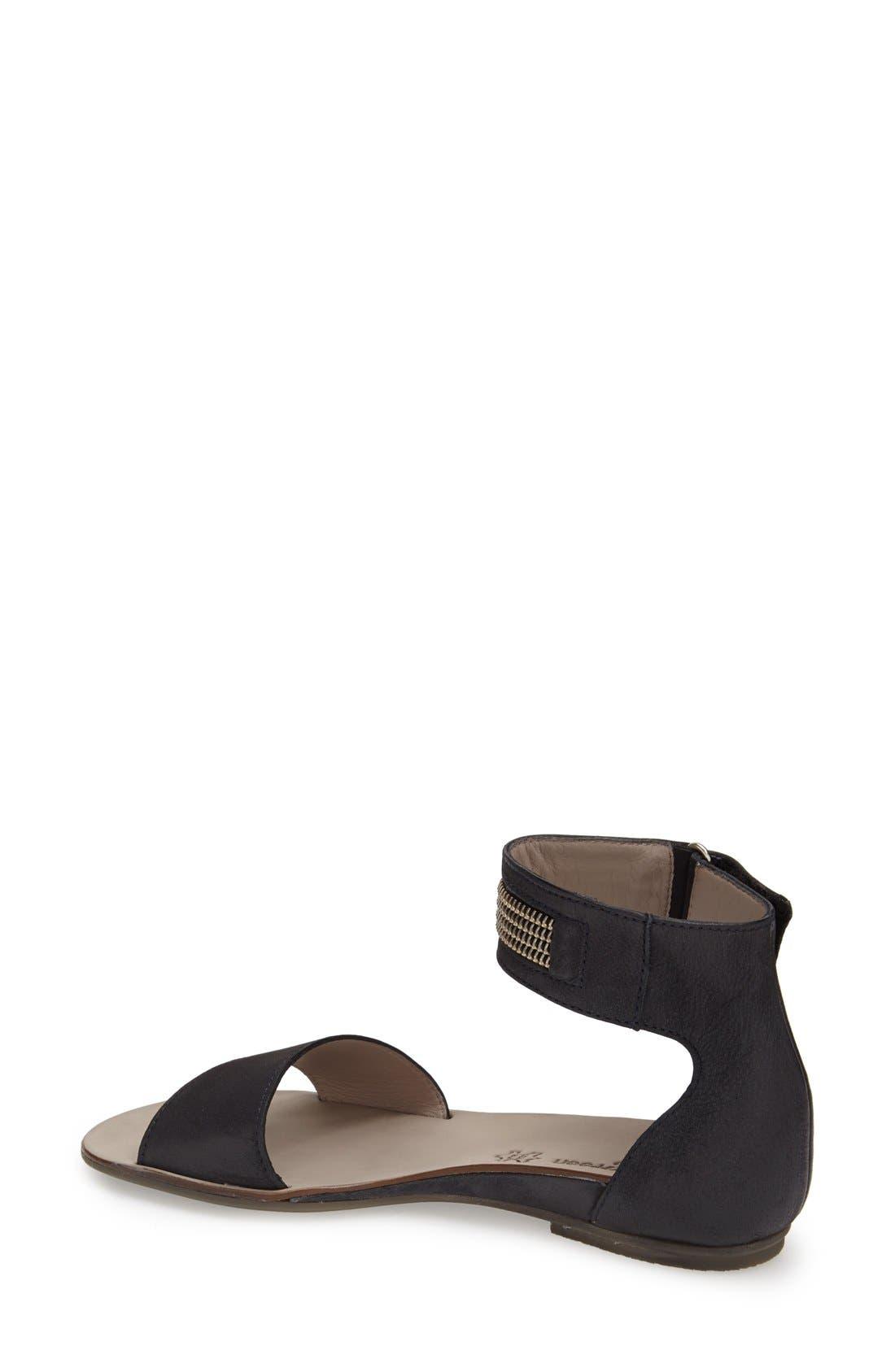 Alternate Image 2  - Paul Green 'Cotie' Ankle Strap Flat Sandal (Women)