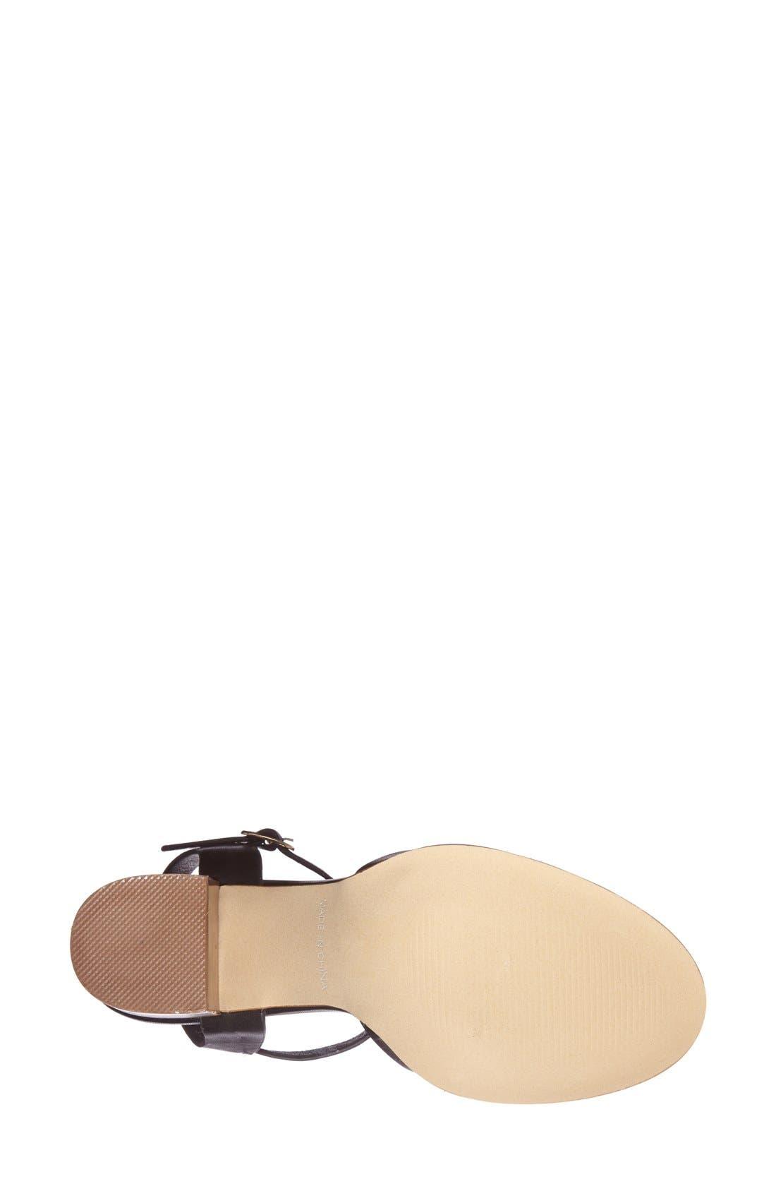 Alternate Image 4  - Topshop 'Newlywed' T-Strap Peep Toe Sandal (Women)