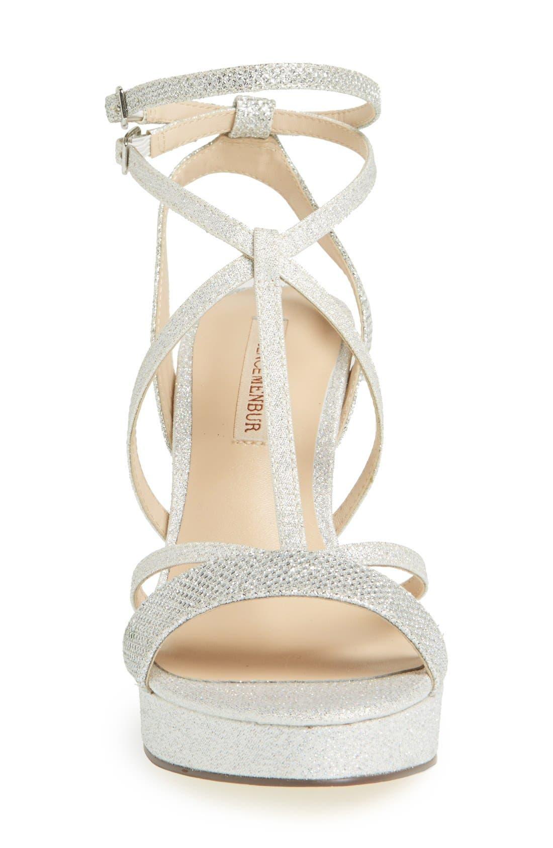 Alternate Image 3  - Menbur 'Algar' Glitter Platform Sandal (Women)