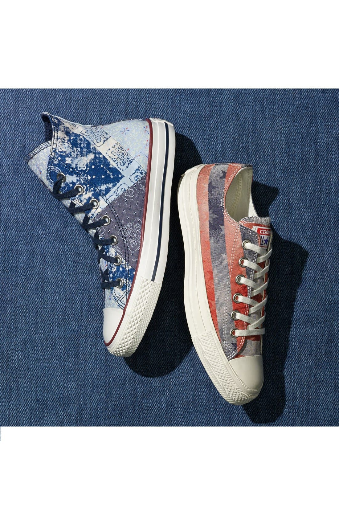 Alternate Image 5  - Converse Chuck Taylor® All Star® 'Multi Bandana' High Top Sneaker (Women)