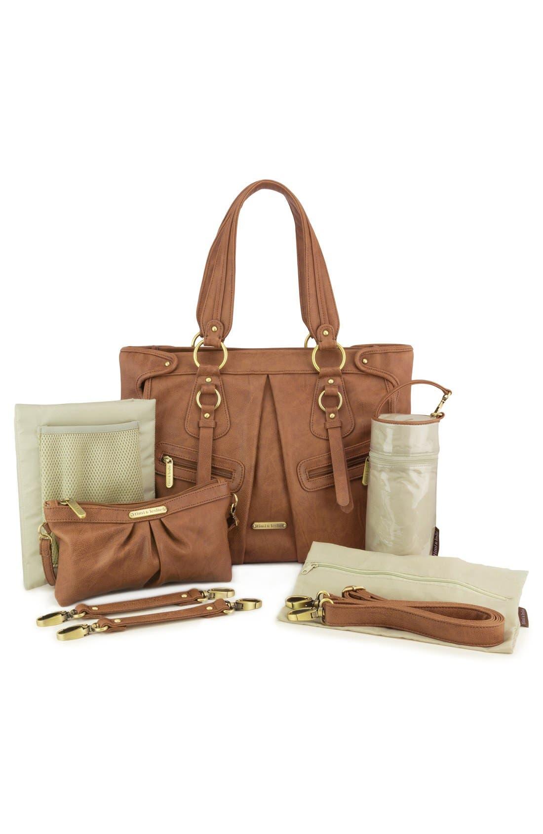 Alternate Image 1 Selected - Timi & Leslie 'Dawn' Diaper Bag