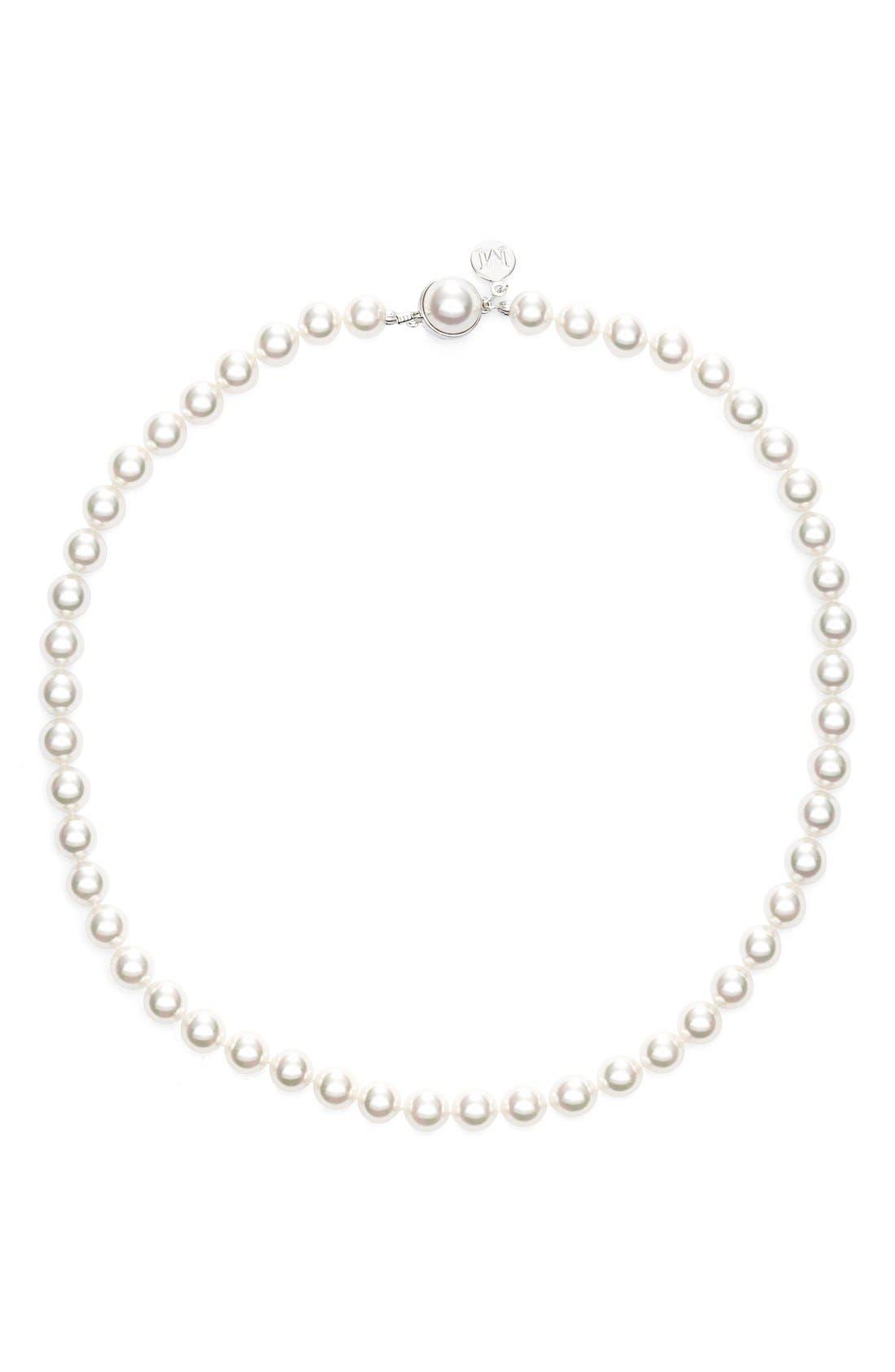 Majorica 8mm Pearl Choker Necklace (Nordstrom Online Exclusive)
