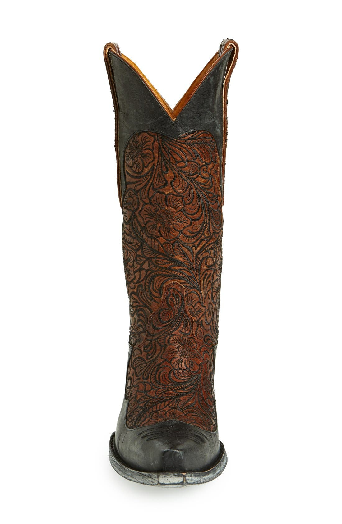 Alternate Image 3  - Old Gringo 'Feita' Floral Embroidered Leather Boot (Women)