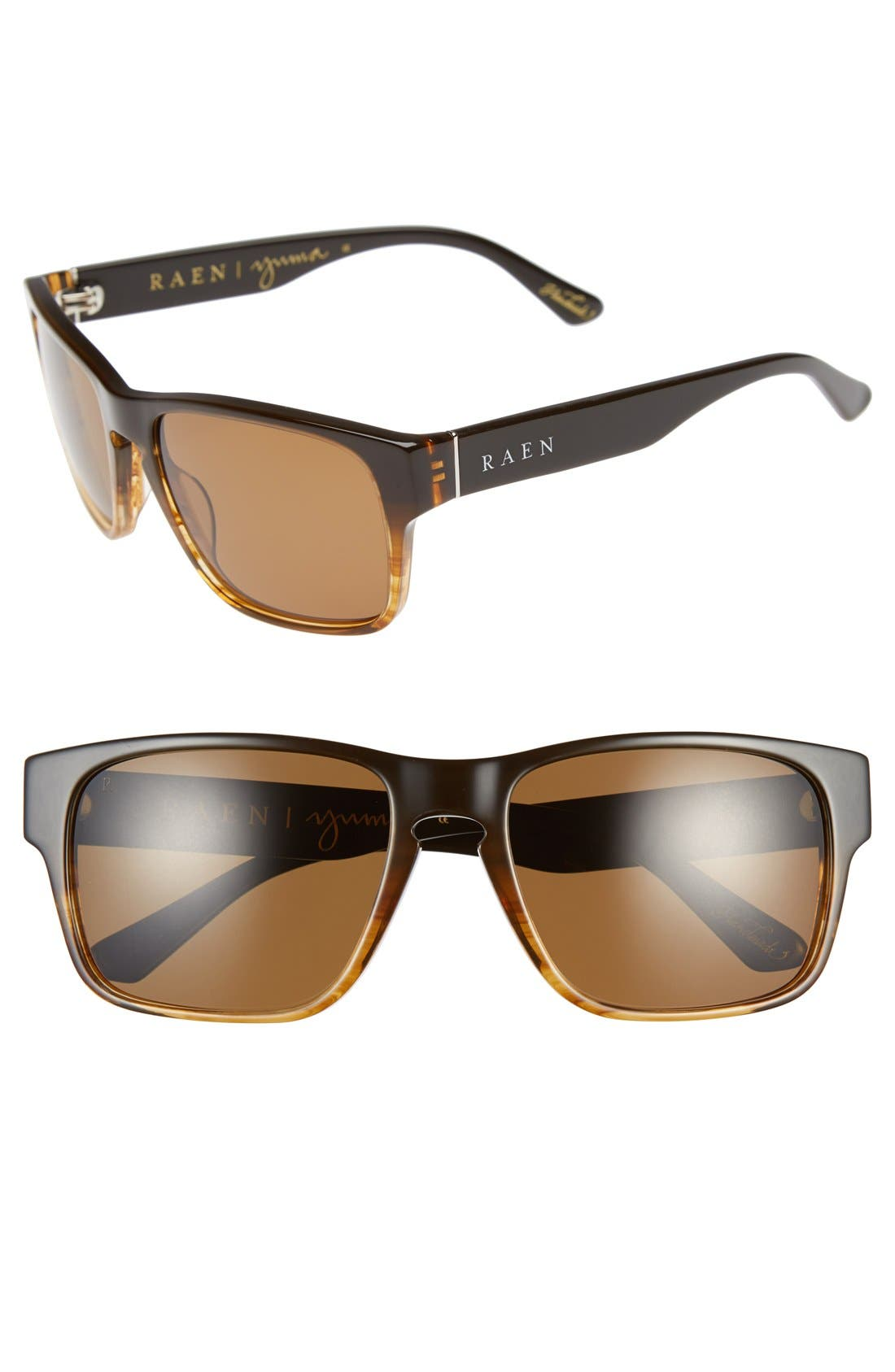 RAEN 'Yuma' 57mm Polarized Sunglasses