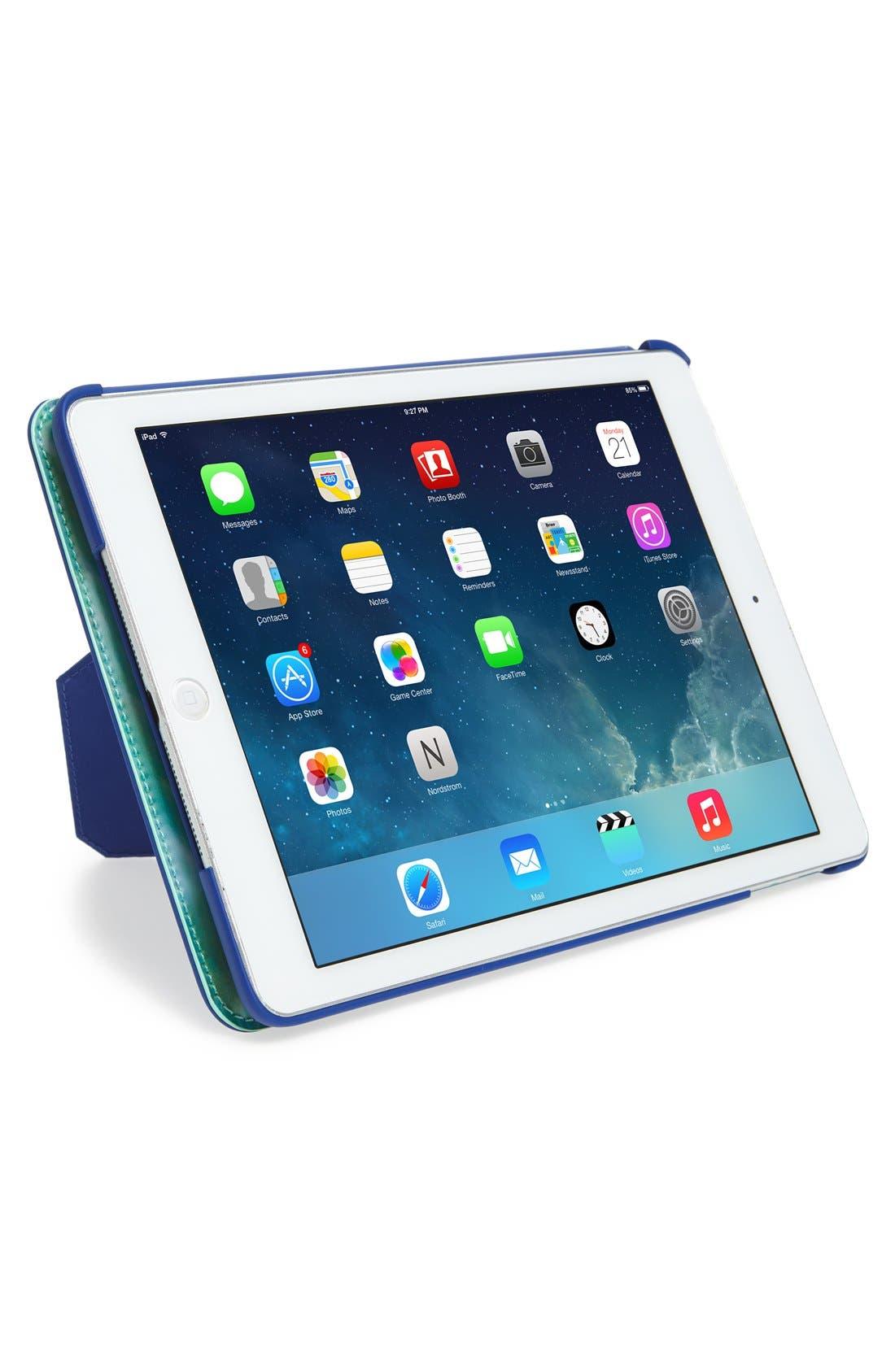 Alternate Image 2  - kate spade new york 'make a splash' lenticular iPad Air folio hardcase