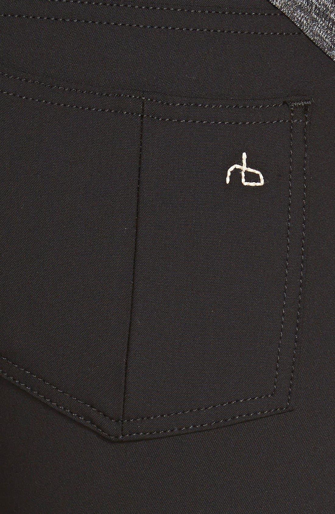 Alternate Image 3  - rag & bone/JEAN Skinny Jeans (Equestrian)