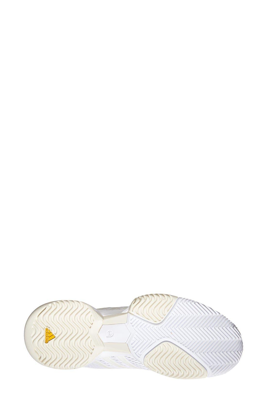 Alternate Image 4  - adidas 'Stella McCartney - Barricade 2015' Tennis Shoe (Women)