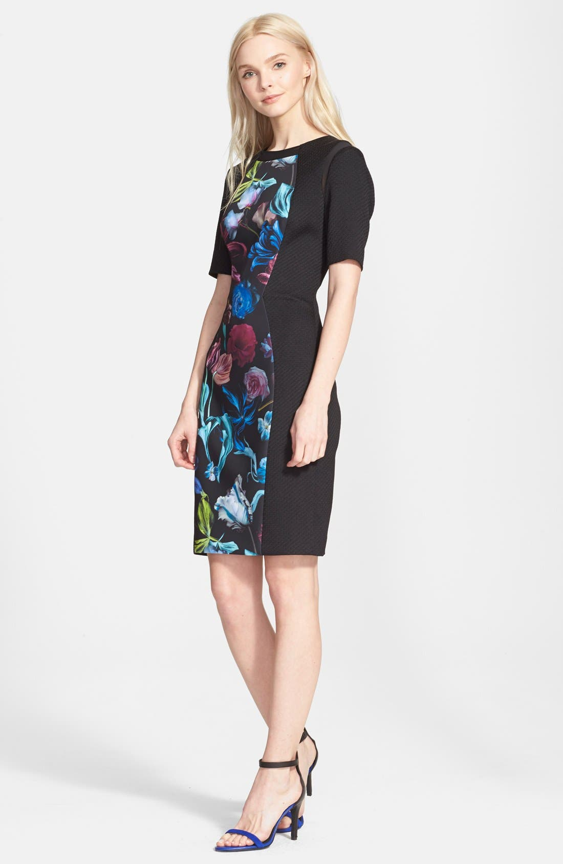 Alternate Image 4  - Ted Baker 'Abade' Body-Con Dress