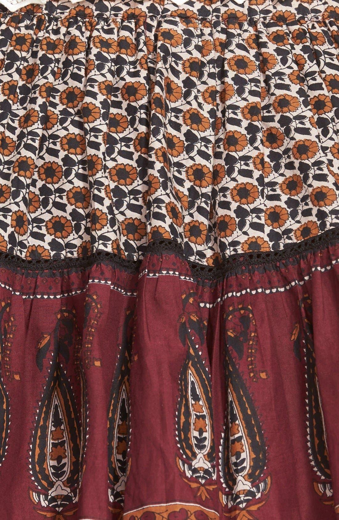 Alternate Image 3  - Band of Gypsies Mix Print Skirt