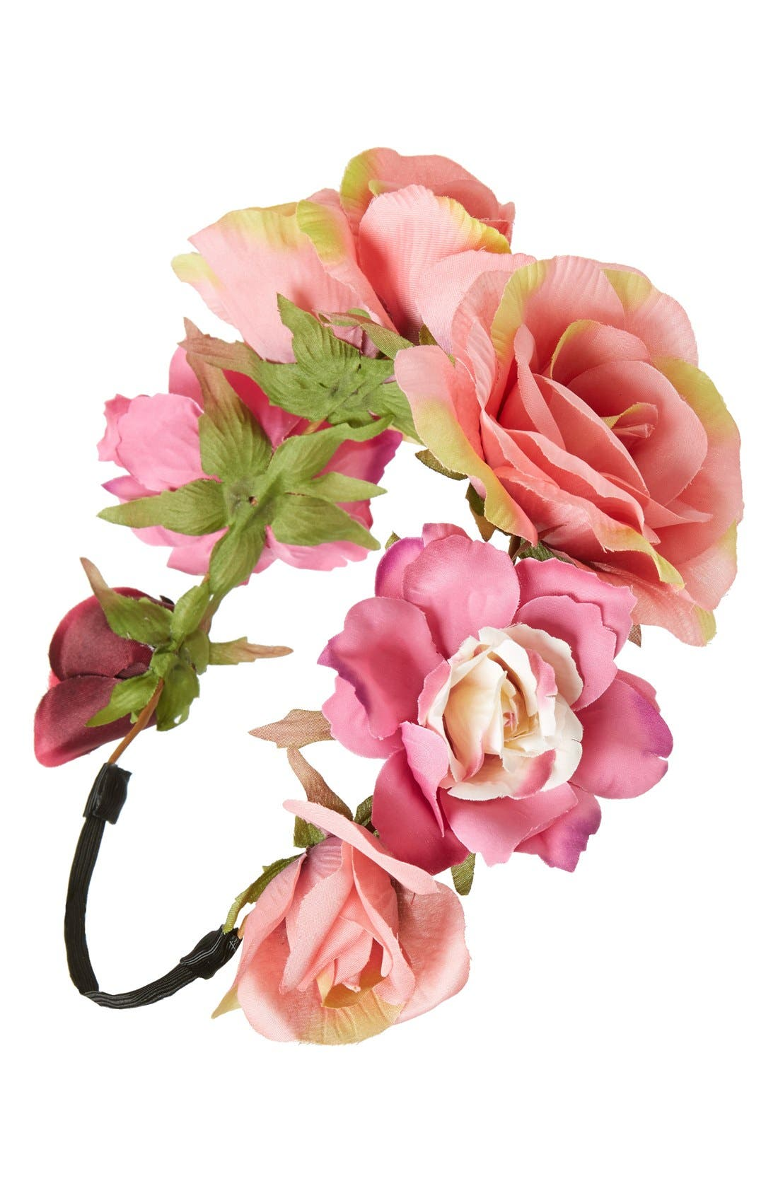 Alternate Image 1 Selected - BP. Floral Head Wrap