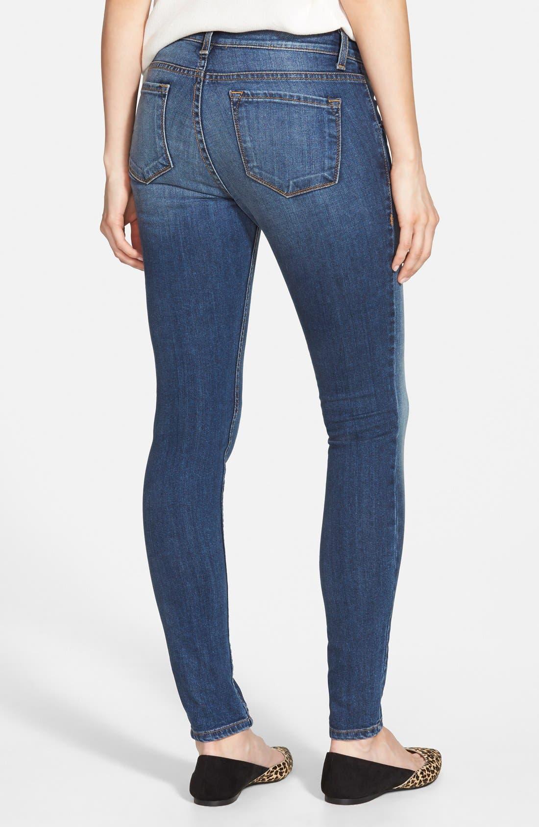 Alternate Image 2  - STS Blue Skinny Jeans (Medium)