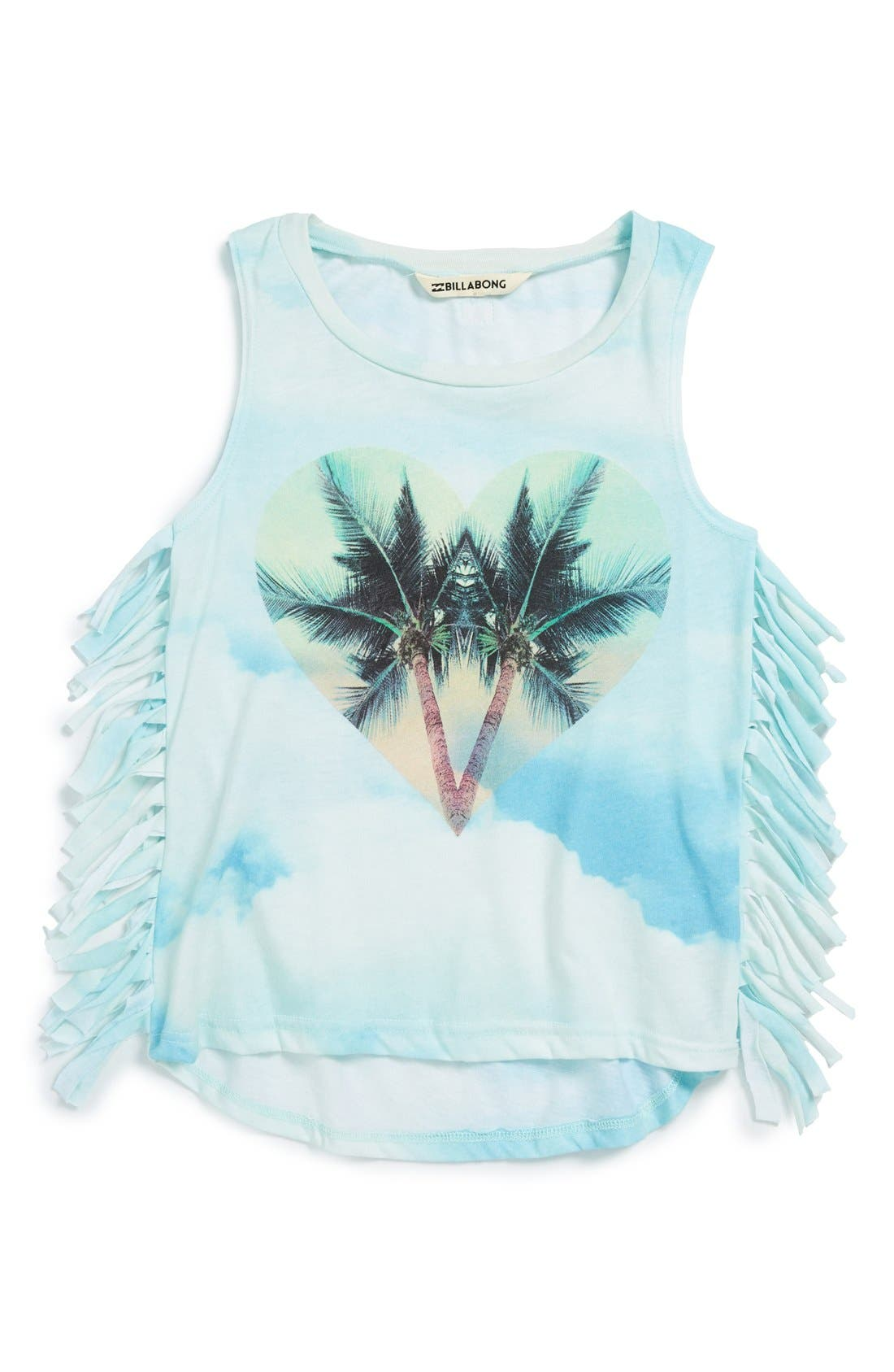 Alternate Image 1 Selected - Billabong 'Reachin Out' Graphic Tee (Big Girls)