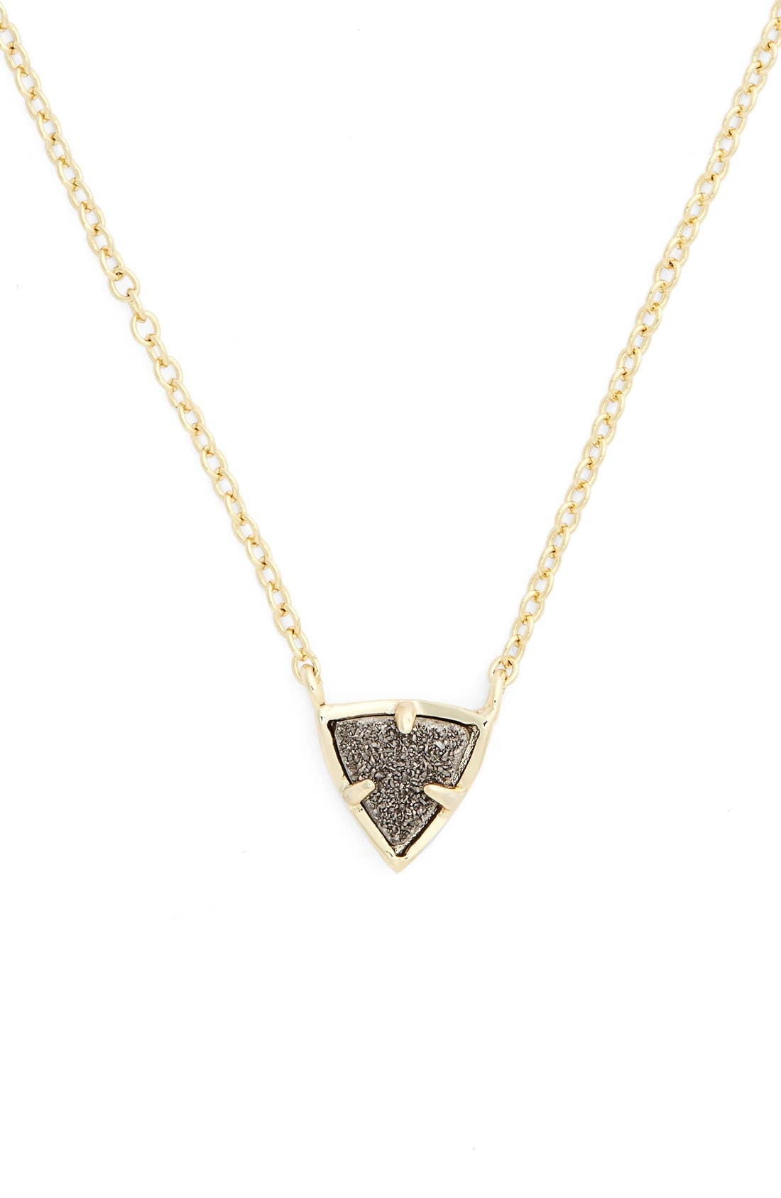 Alternate Image 1 Selected - Kendra Scott 'Perry' Stone Pendant Necklace