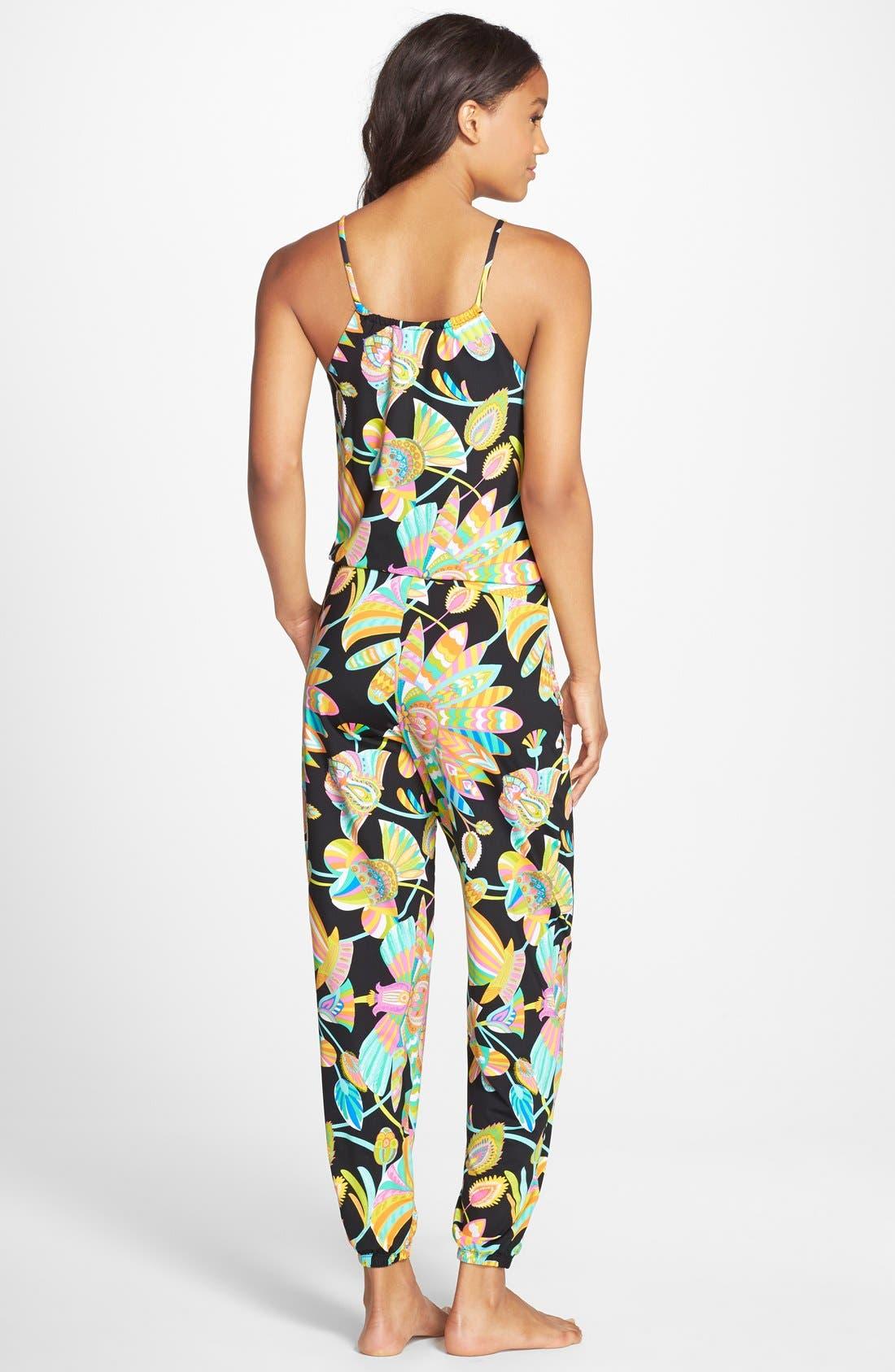 Alternate Image 2  - Trina Turk 'Tahitian Floral' Jumpsuit