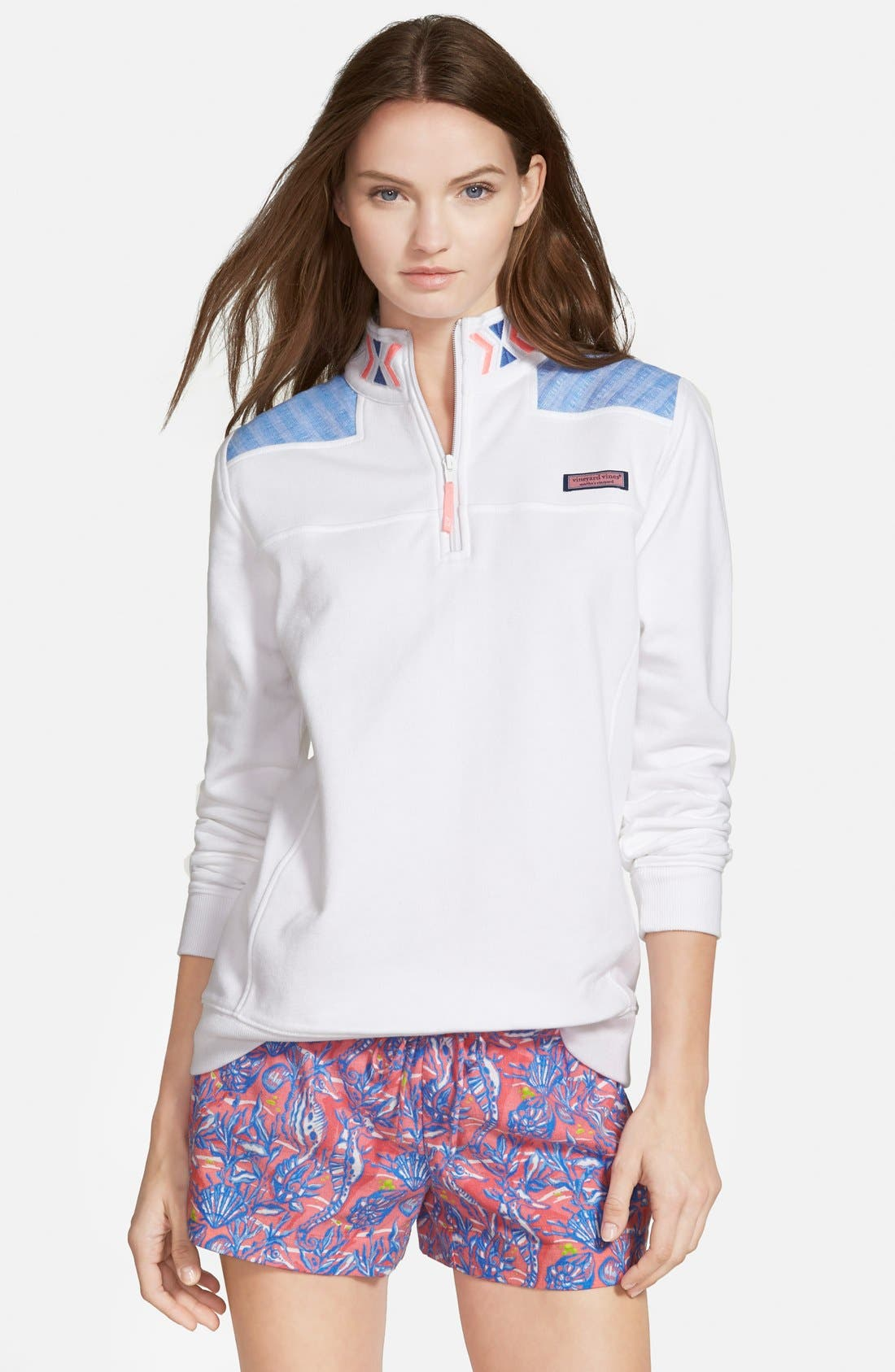Alternate Image 1 Selected - Vineyard Vines Embroidered Shep Shirt