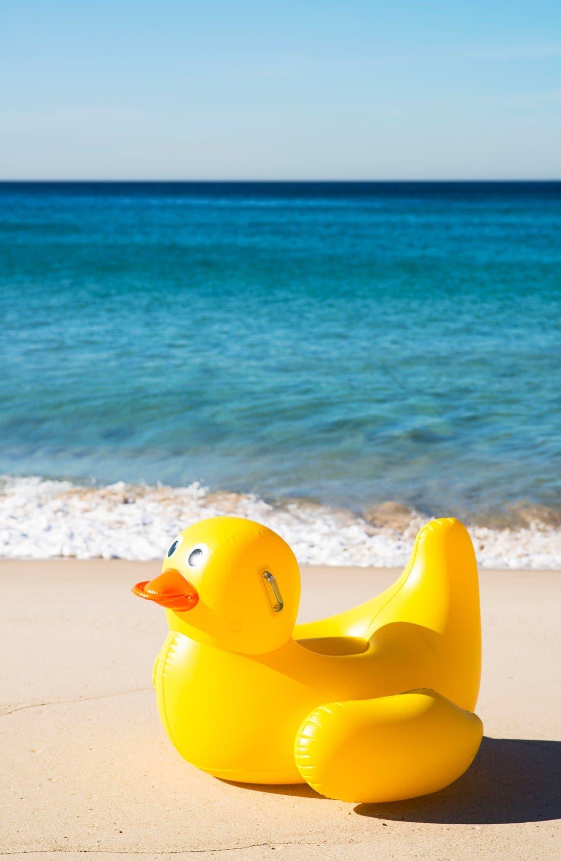 Alternate Image 3  - Sunnylife 'Really Big' Inflatable Duck Pool Floatie