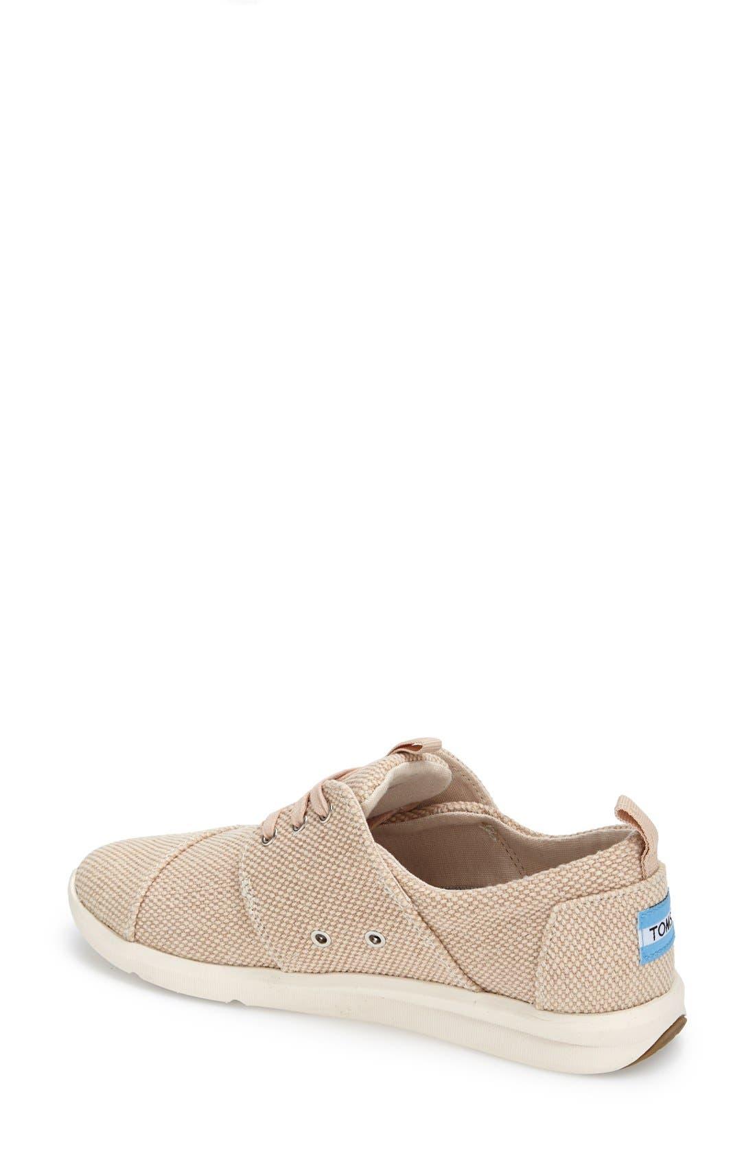 Alternate Image 2  - TOMS 'Del Rey' Sneaker (Women)
