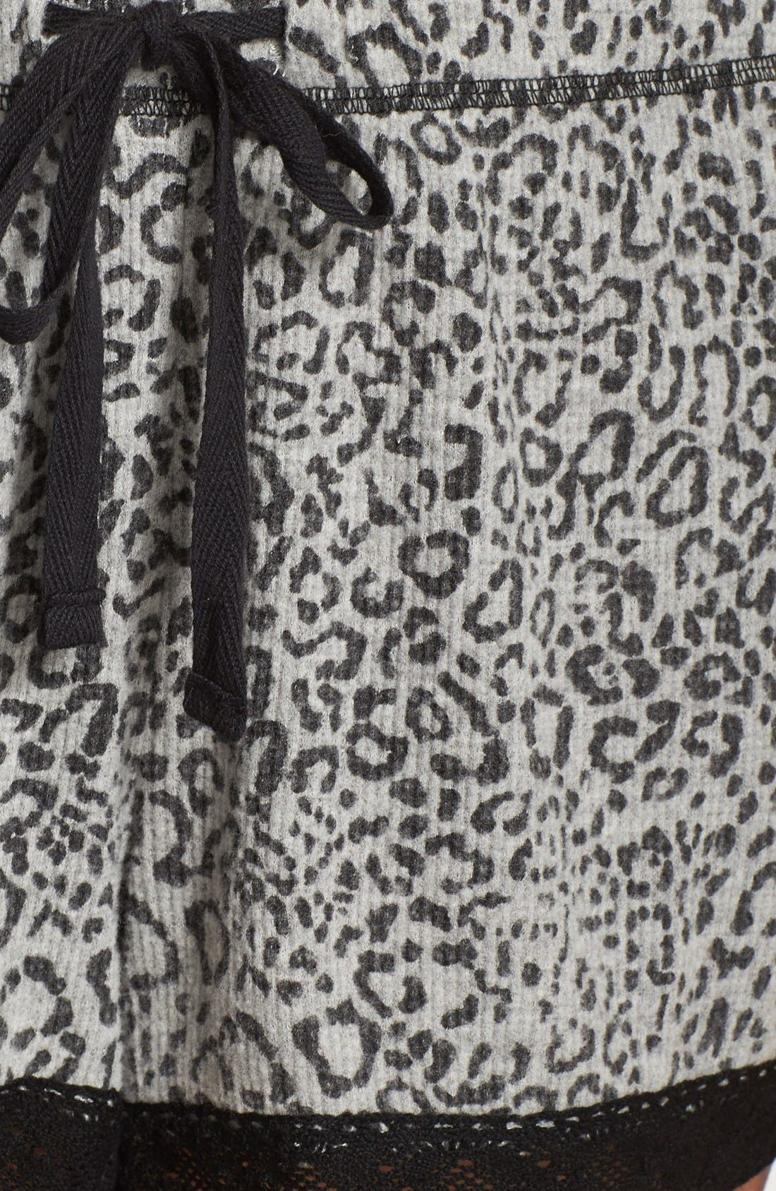 Alternate Image 4  - PJ Salvage Thermal Pajama Shorts