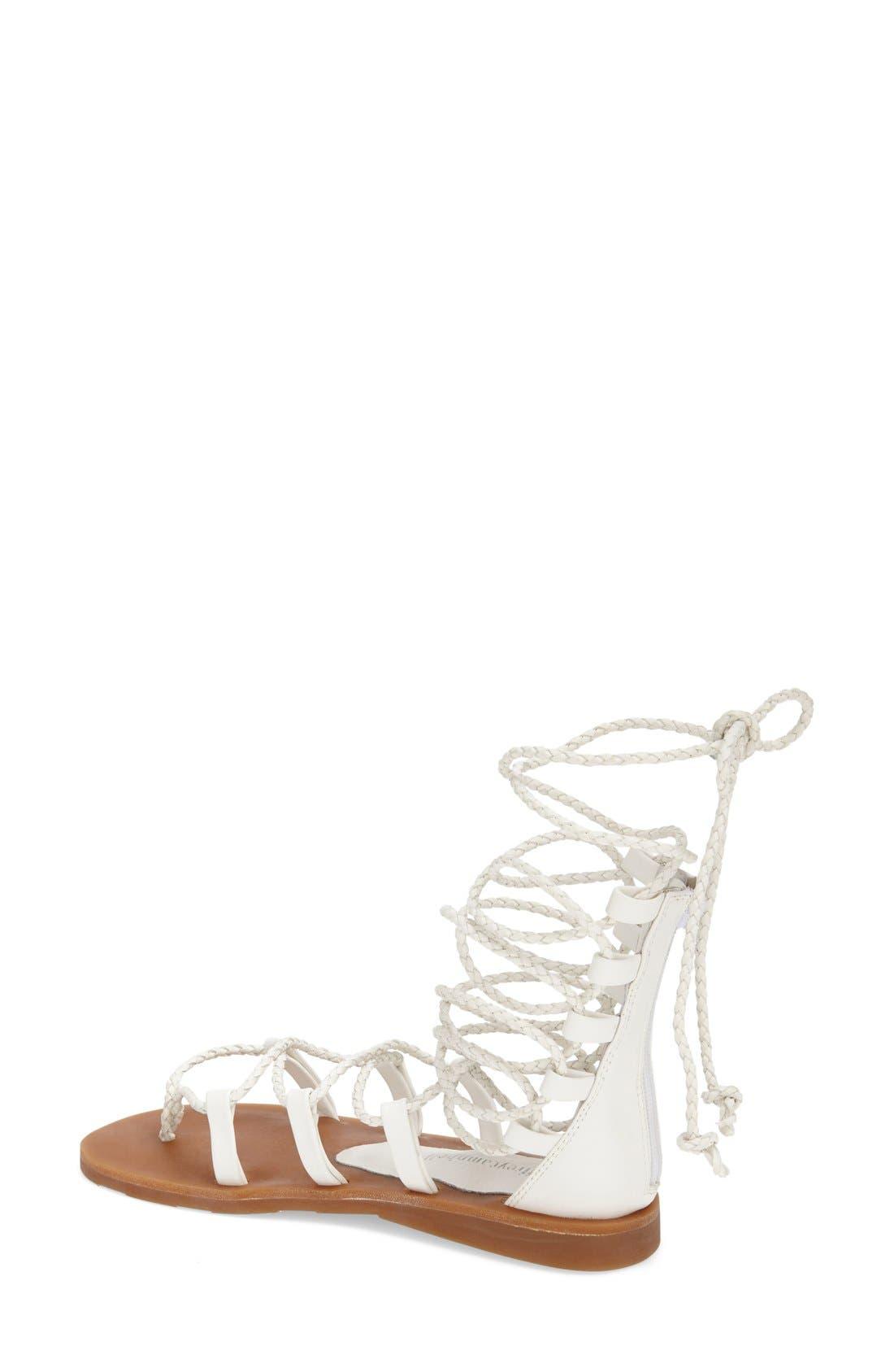 Alternate Image 2  - Jeffrey Campbell 'Hola' Lace-Up Gladiator Sandal (Women)
