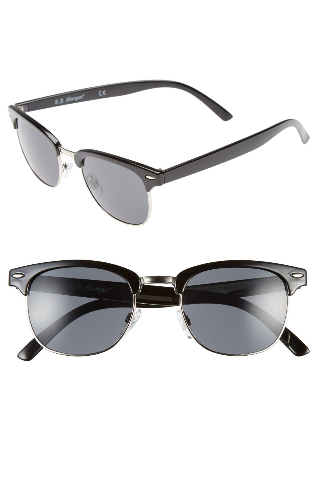 A.J. MORGAN 52mm 'Soho' Sunglasses