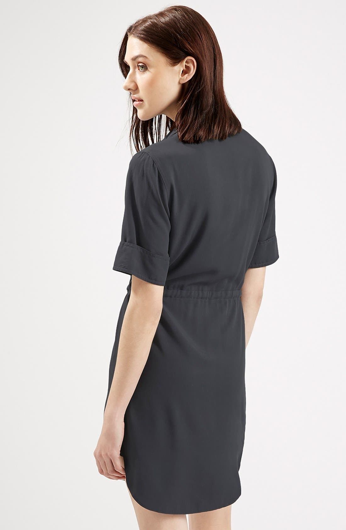 Alternate Image 2  - Topshop Utility Drawstring Dress