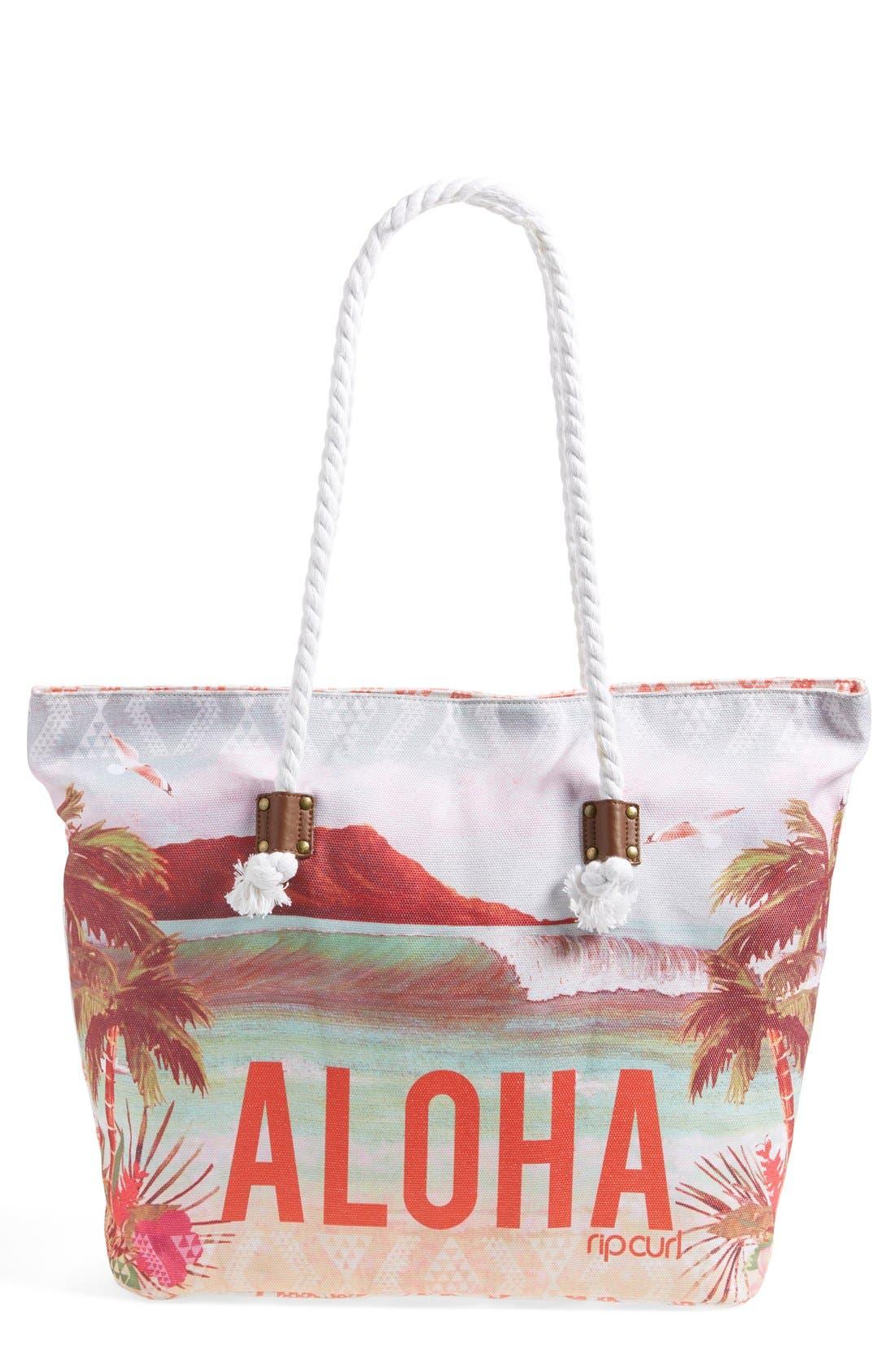 Alternate Image 1 Selected - Rip Curl 'Aloha Spirit' Beach Bag