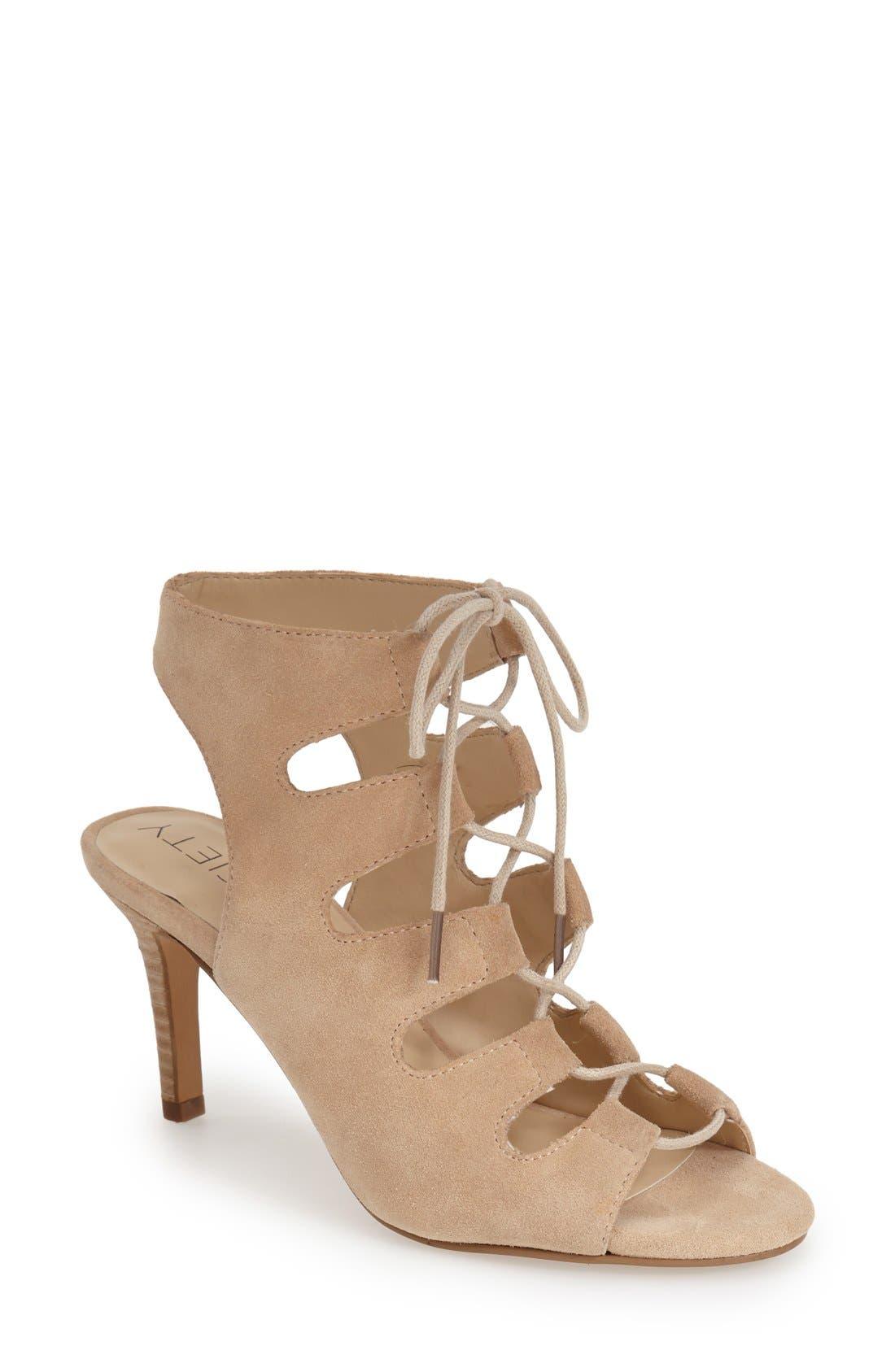 Alternate Image 1 Selected - Sole Society 'Rosalie' Cutout Sandal (Women)