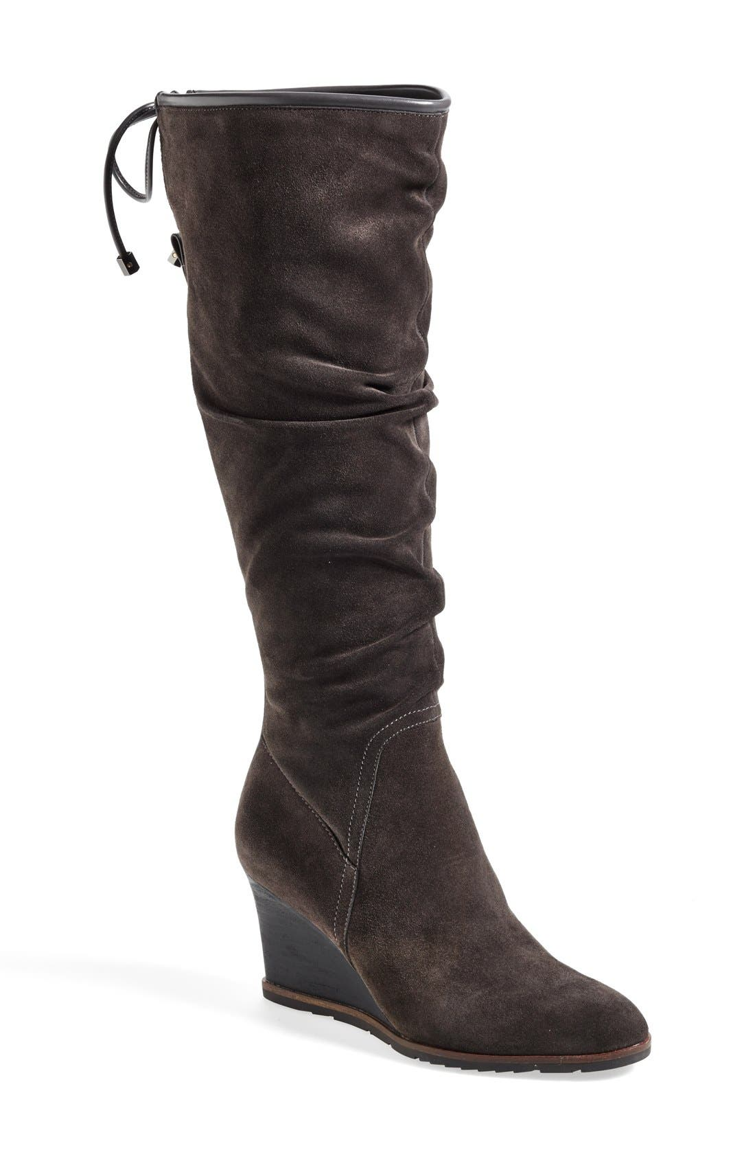 Main Image - Franco Sarto 'Dominion' Wedge Boot (Women) (Online Only)