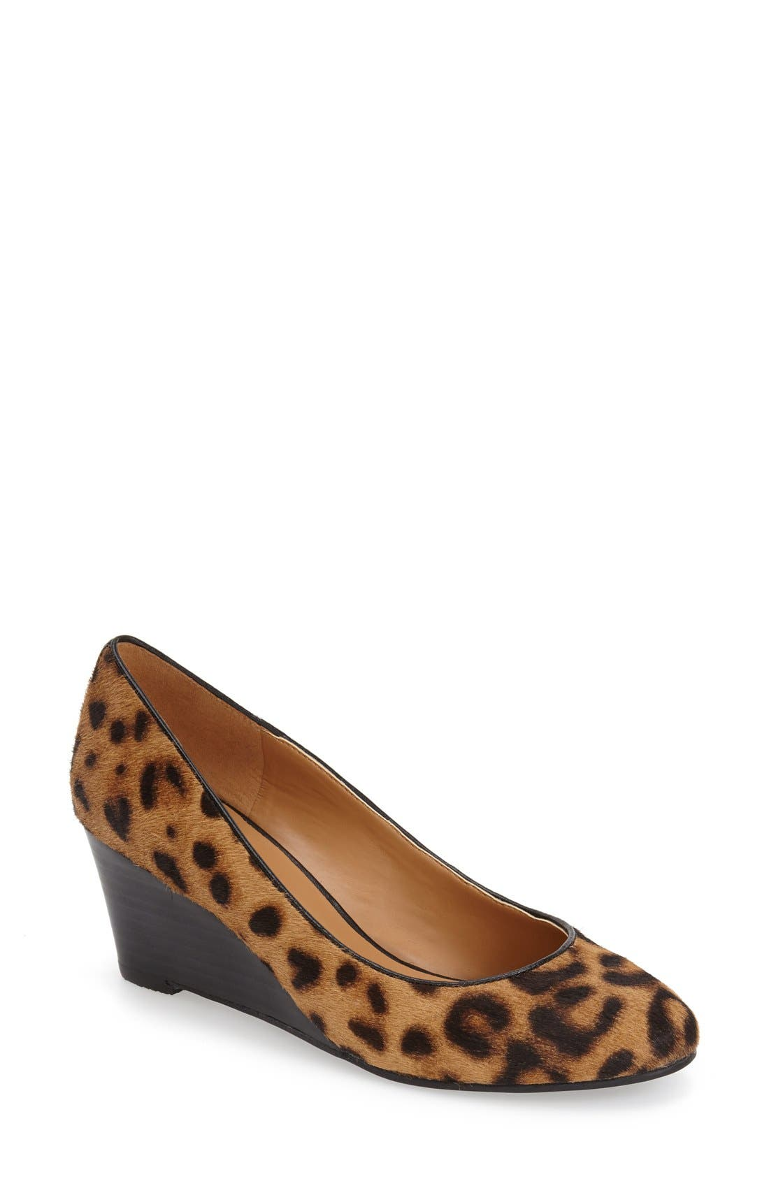 Alternate Image 1 Selected - Nine West 'Ispy' Wedge Pump (Women)