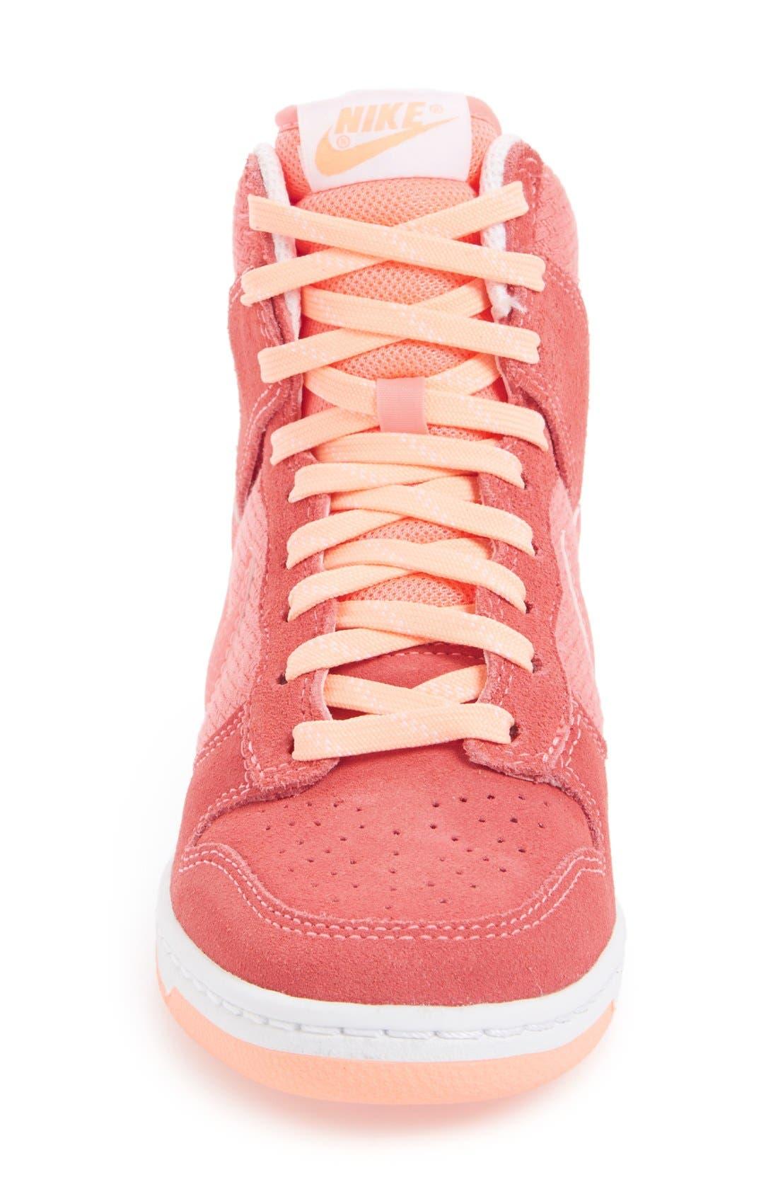 Alternate Image 7  - Nike 'Dunk Sky Hi - Essential' Wedge Sneaker (Women)