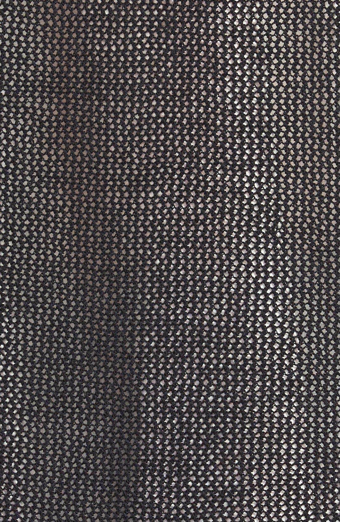 Alternate Image 3  - Eileen Fisher Wool Mesh Long Cardigan