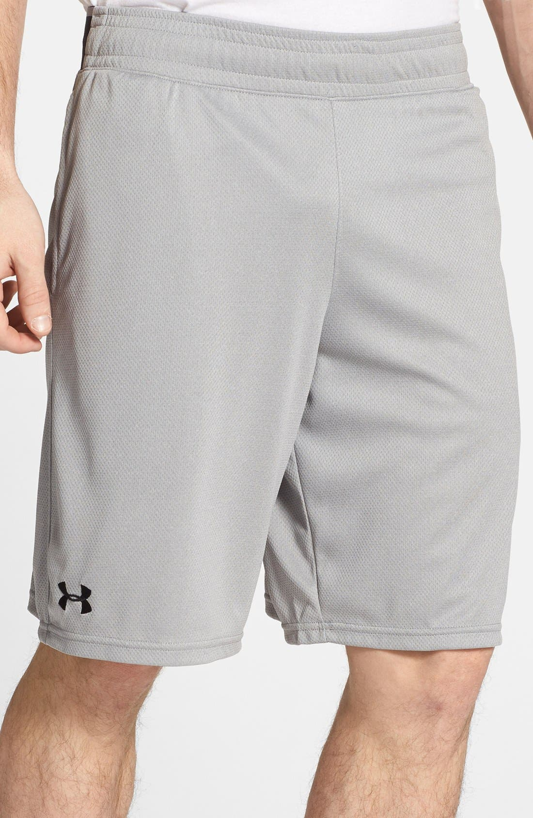 Alternate Image 1 Selected - Under Armour 'Reflex' HeatGear® Mesh Knit Shorts