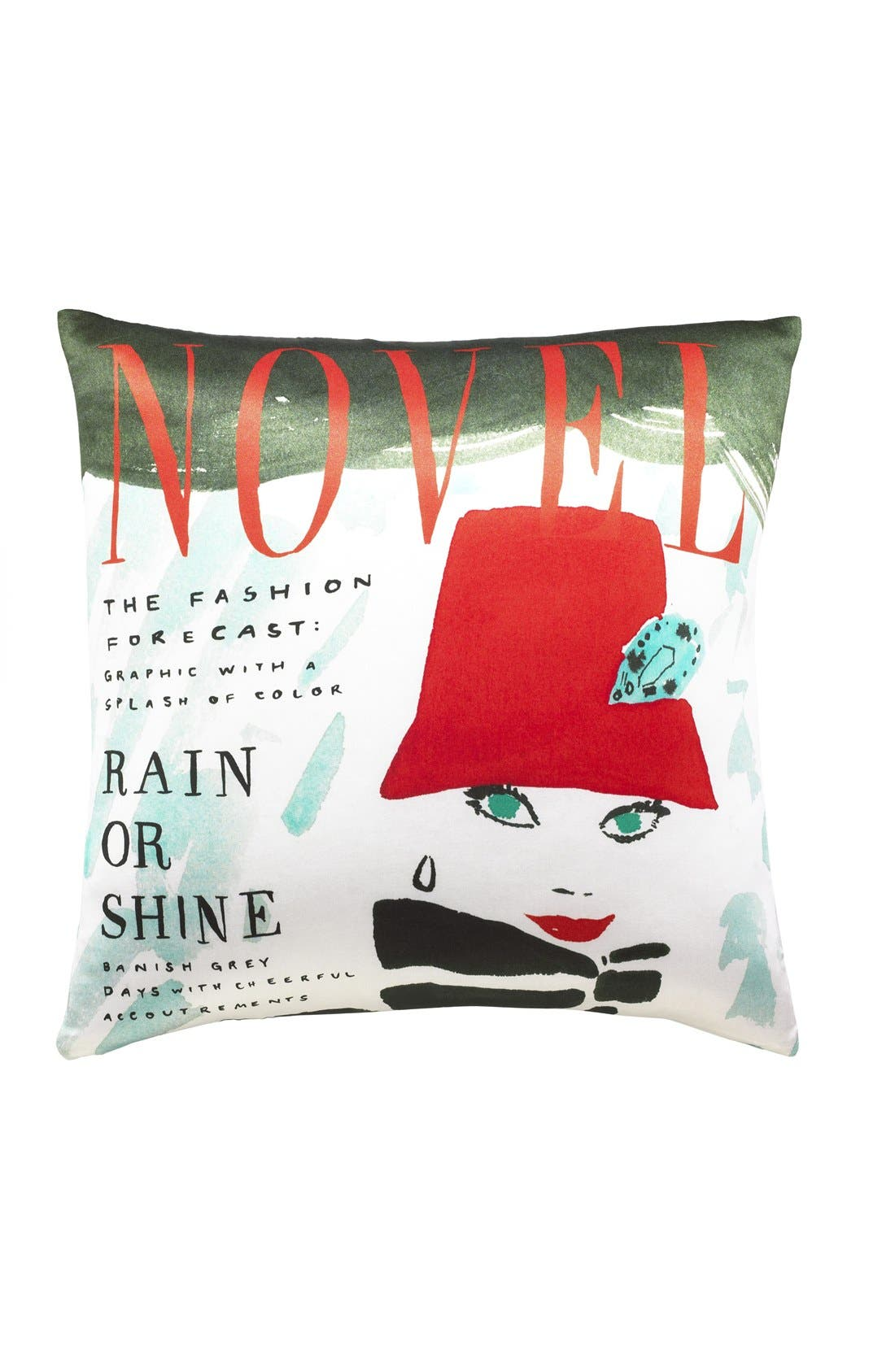 Alternate Image 1 Selected - kate spade new york 'rain or shine' accent pillow
