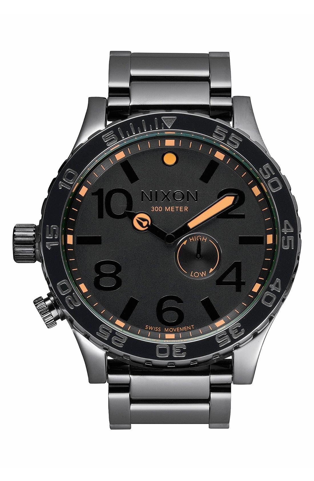 Main Image - Nixon 'The 51-30' Bracelet Watch