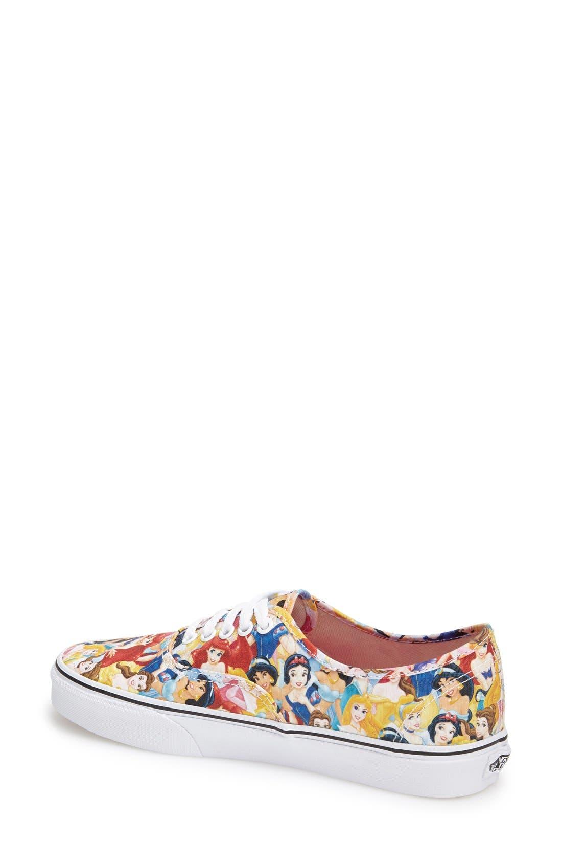 Alternate Image 2  - Vans 'Authentic - Disney®' Sneaker (Women)