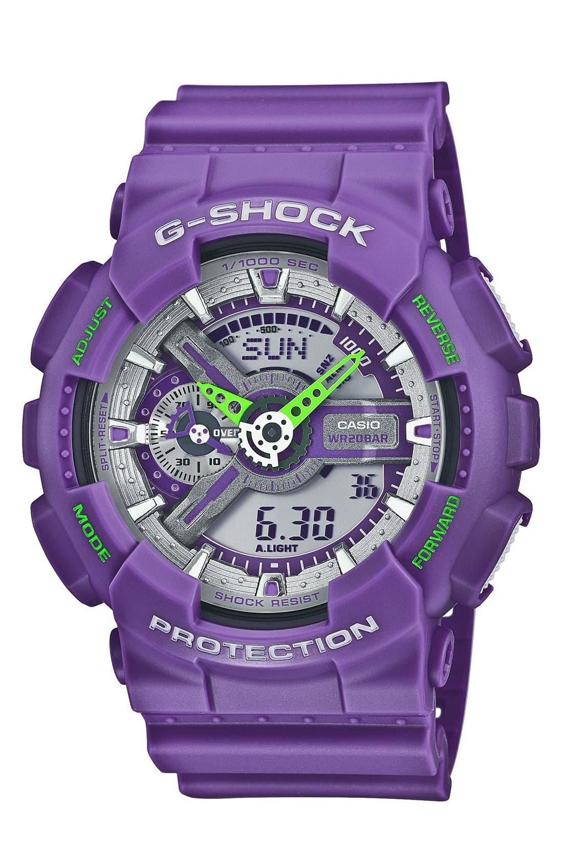 Main Image - G-Shock 'X-Large Big Combi' Watch, 55mm x 51mm